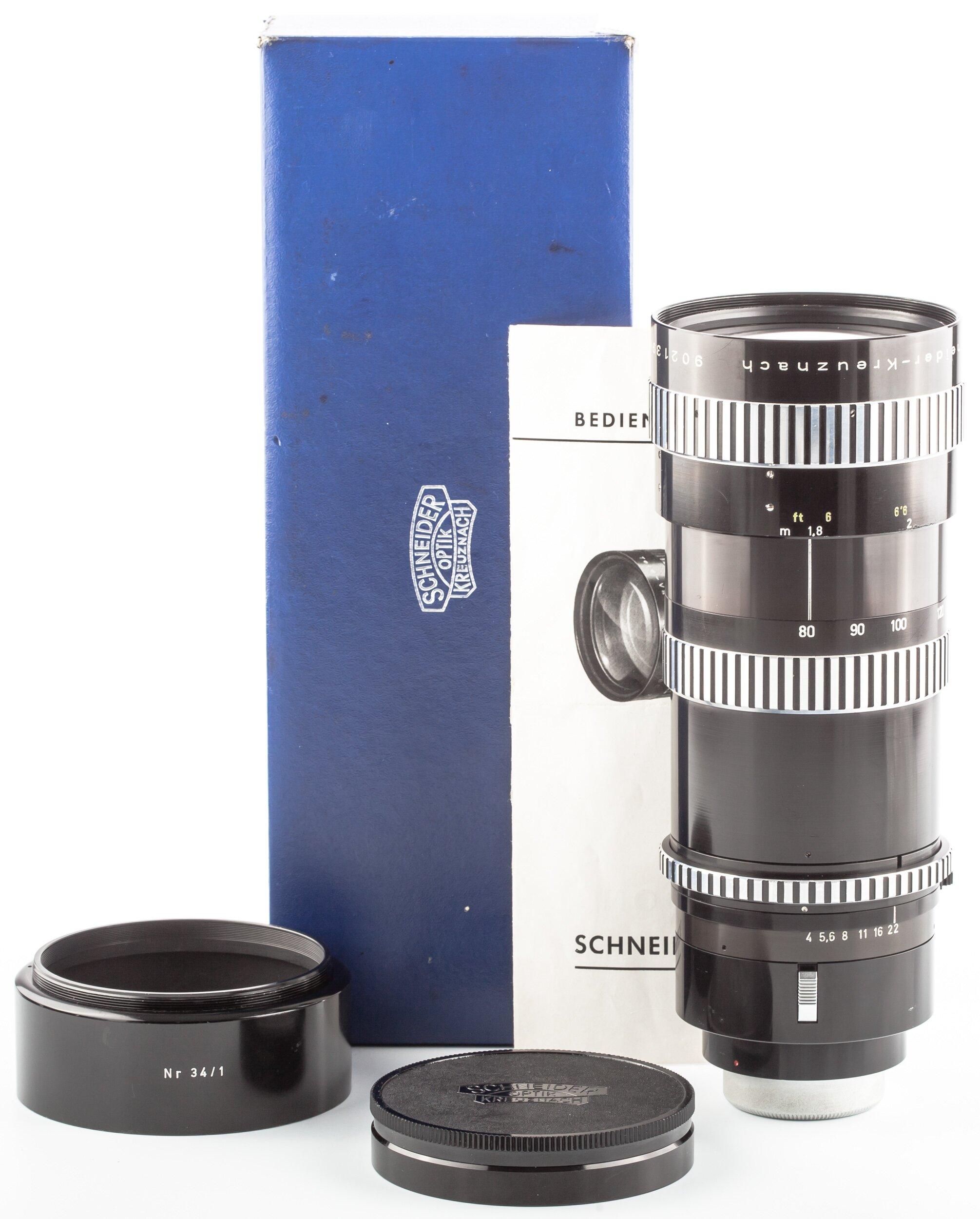 Schneider Objektiv Tele-Variogon 4/80-240 mm Contarex