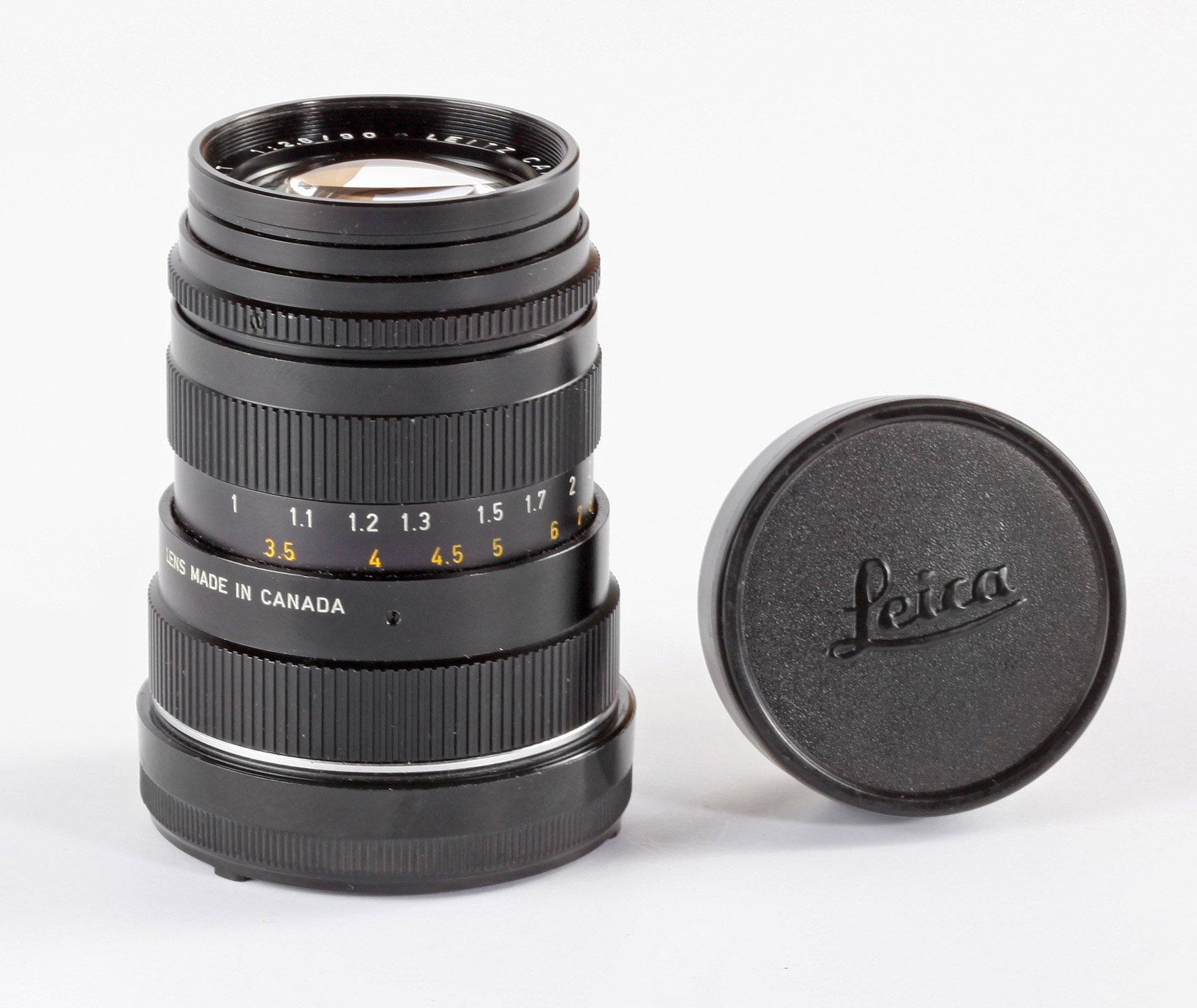 Leica M 90mm 2,8 Tele-Elmarit Canada