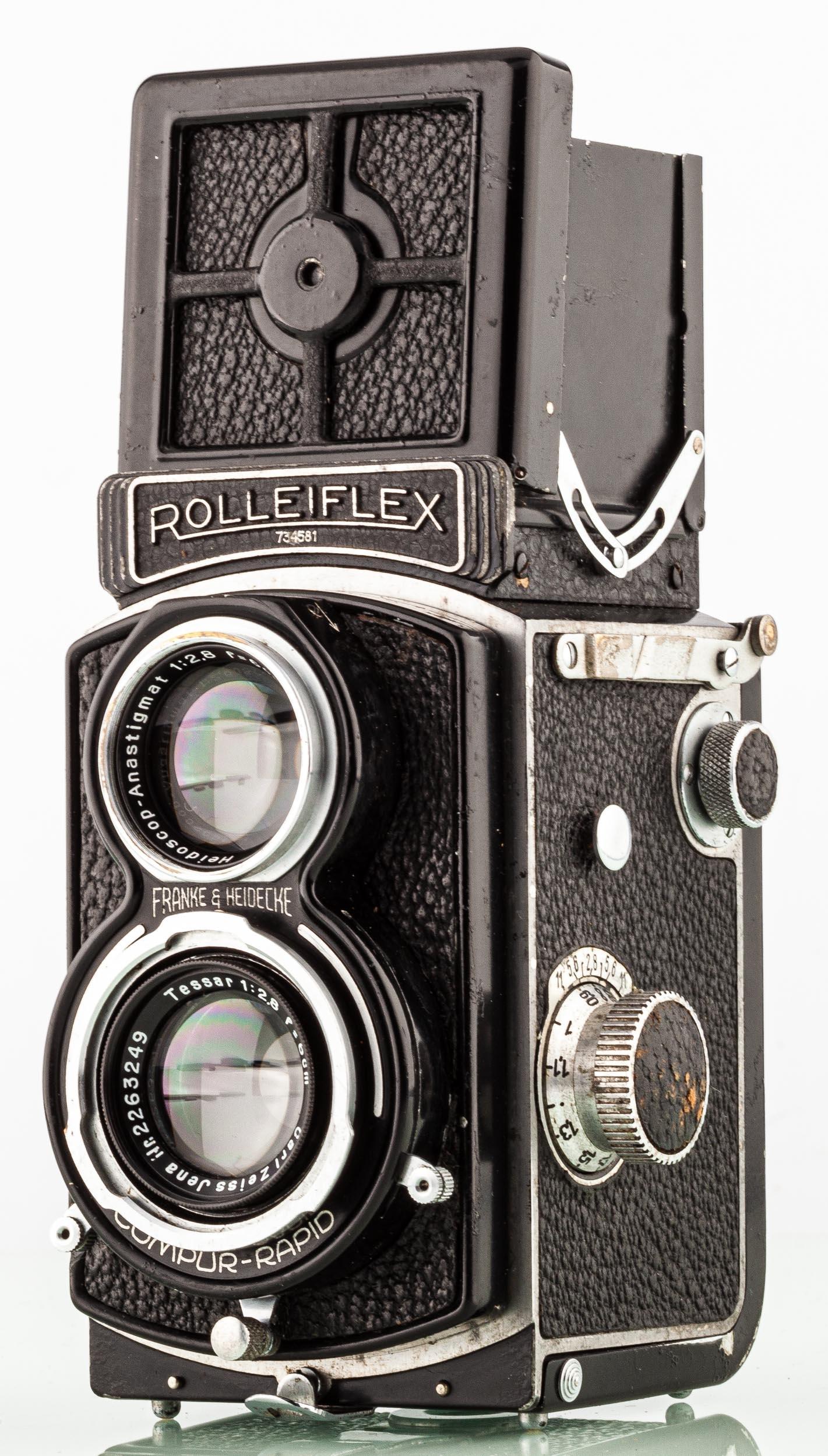 Rolleiflex 4x4 Baby