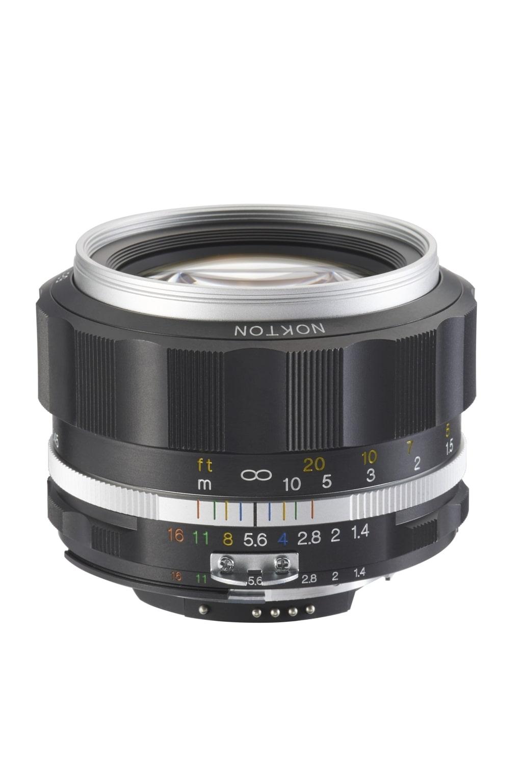 Voigtländer Nikon 58mm 1,4 Nokton SL II-S silber