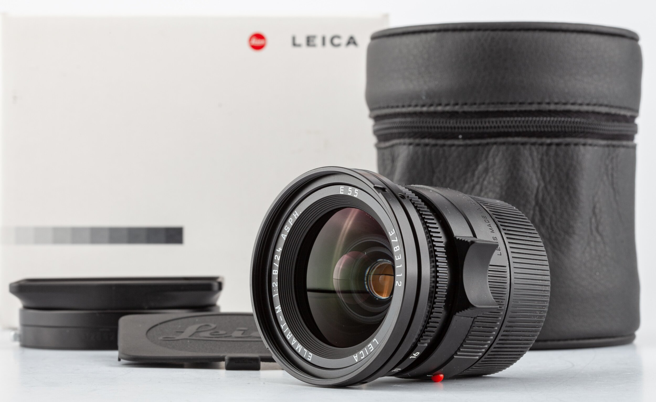 Leic Elmarit-M 2,8/24mm asph. E55 OVP 1878