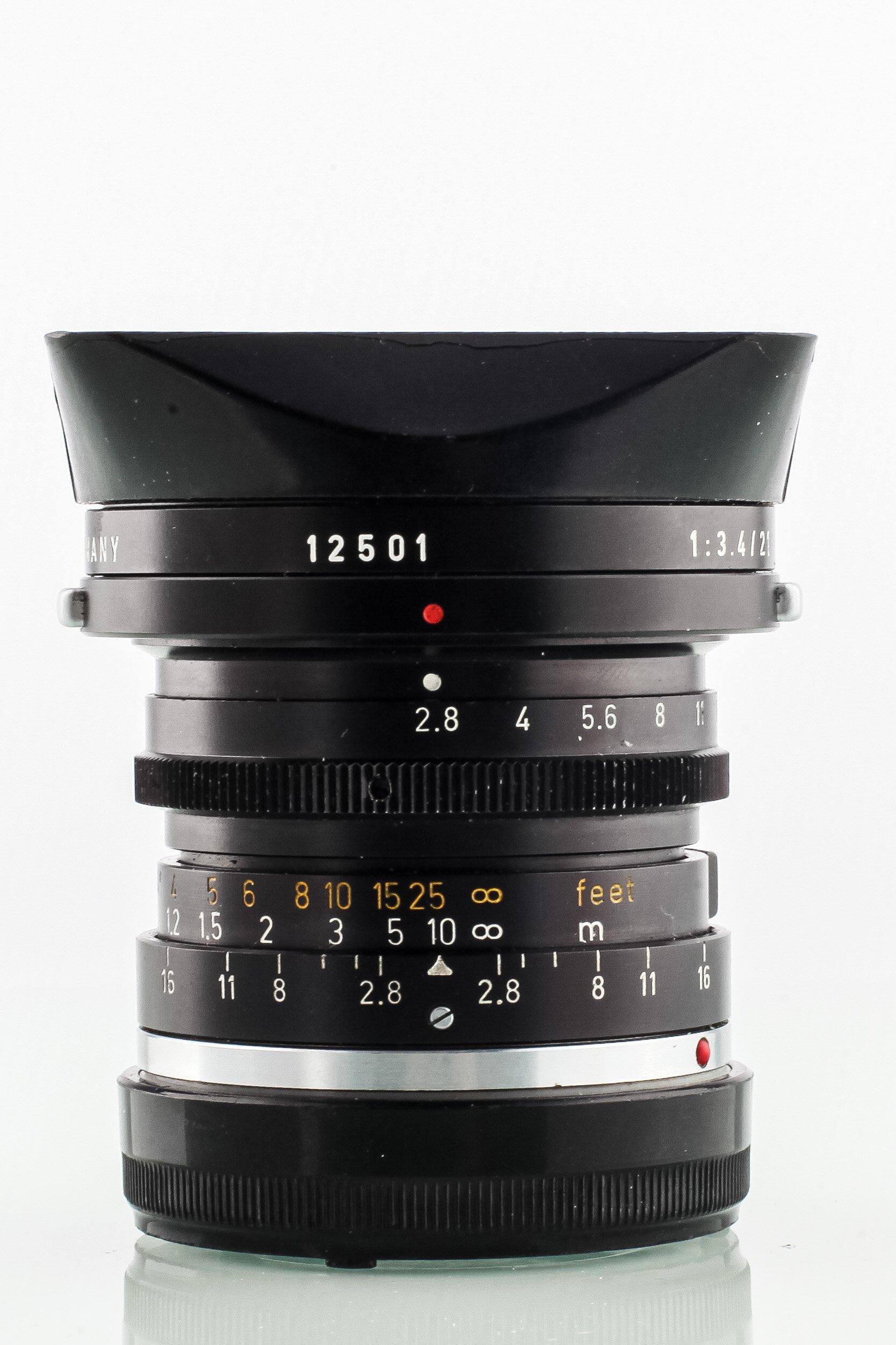 Leica Elmarit-M 2,8/28mm schwarz