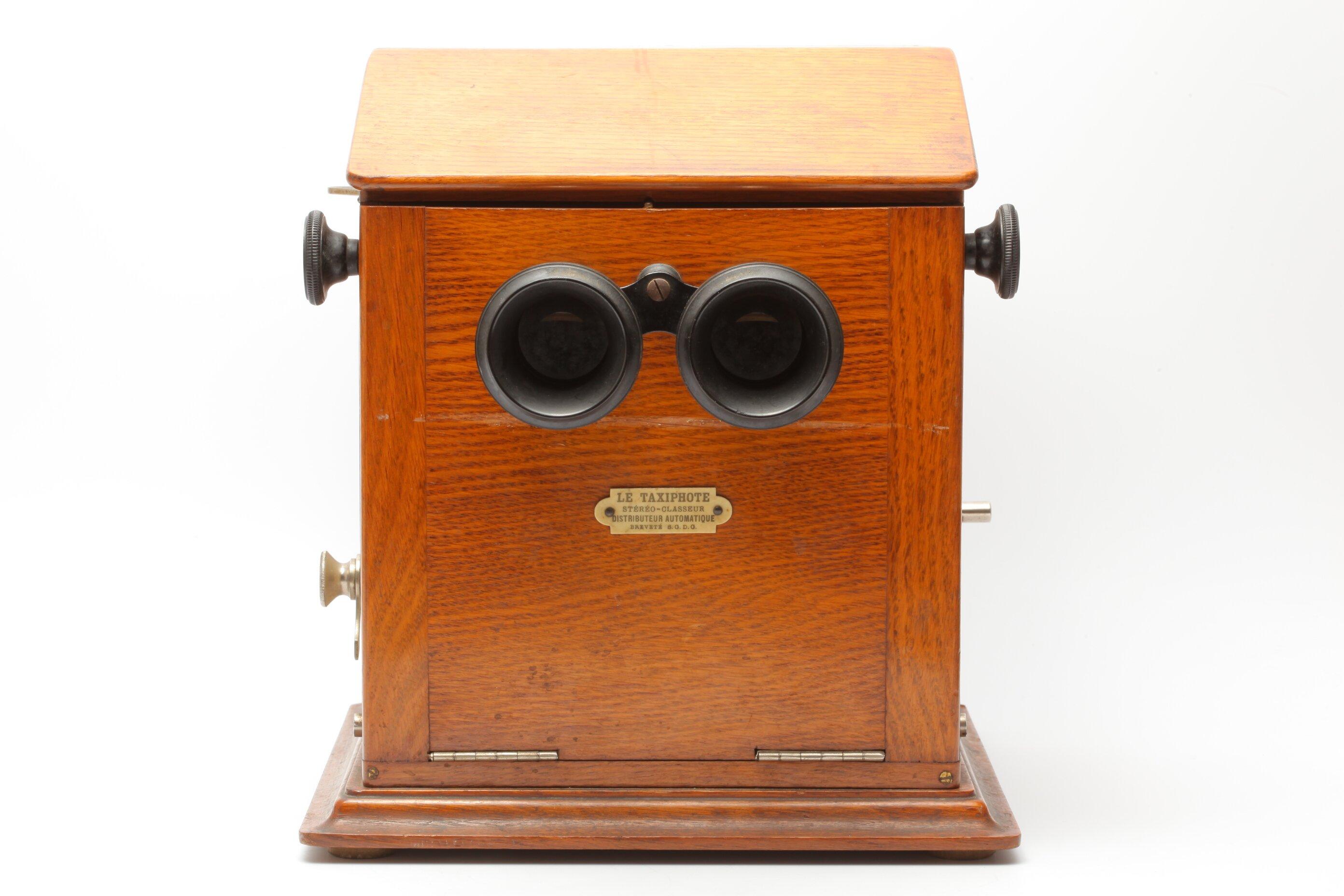 Le Taxiphote Stereo-Betrachter Distributeur Automatique Brevete S.G.D.G.