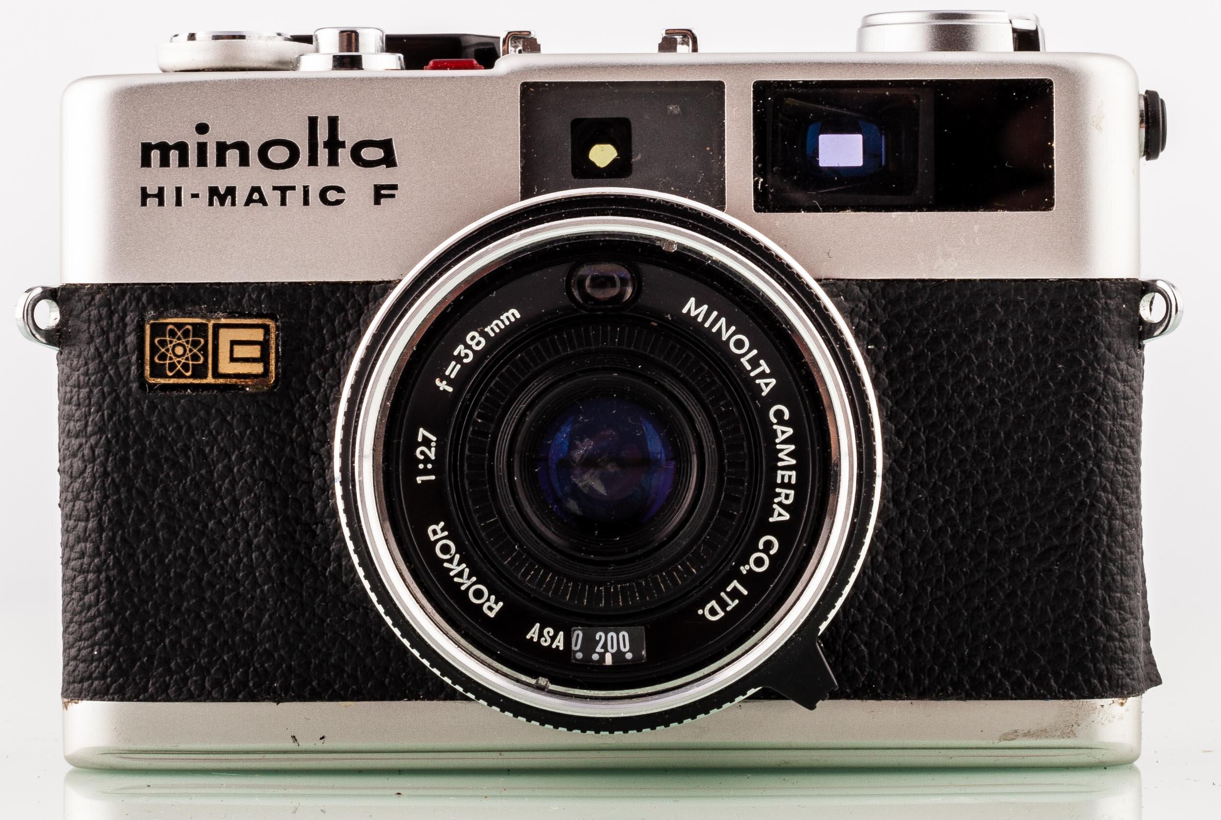 Minolta HI Matic F Rokkor 38mm F2.7
