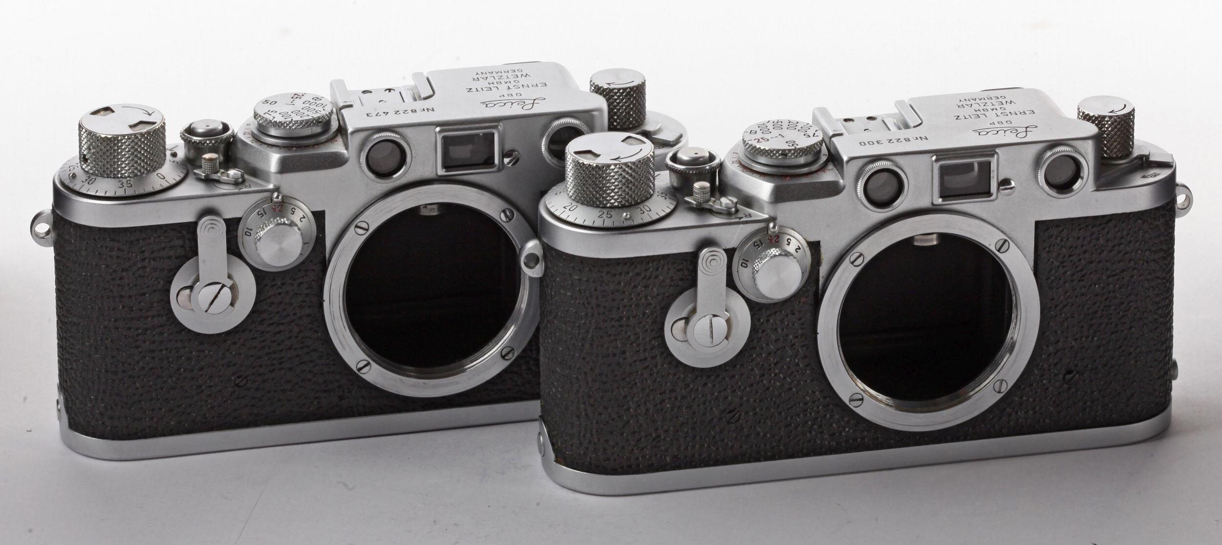 Leica If SET rote Kontaktzahlen1956 rare
