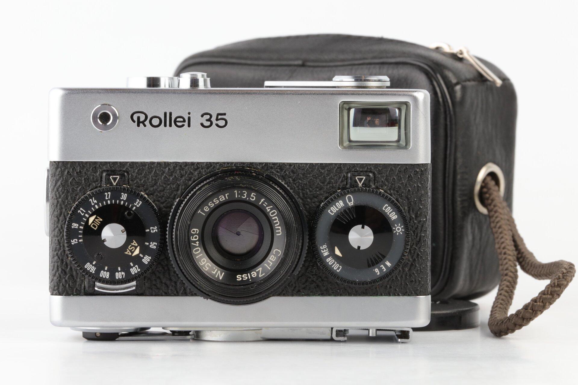 Rollei 35 silber mit Tessar 40mm F3,5