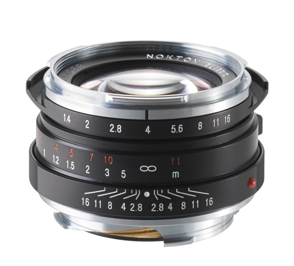 Voigtländer VM 40mm 1,4 Nokton S.C. Leica M schwarz