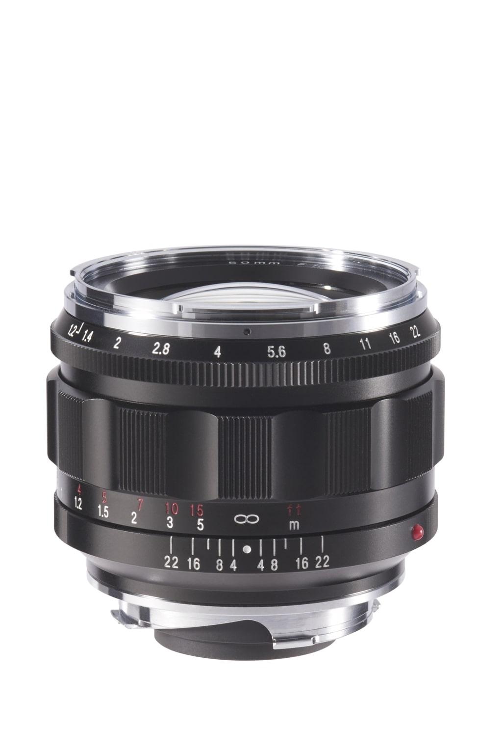 Voigtländer VM 50mm 1,2 Nokton asphärisch Leica M schwarz