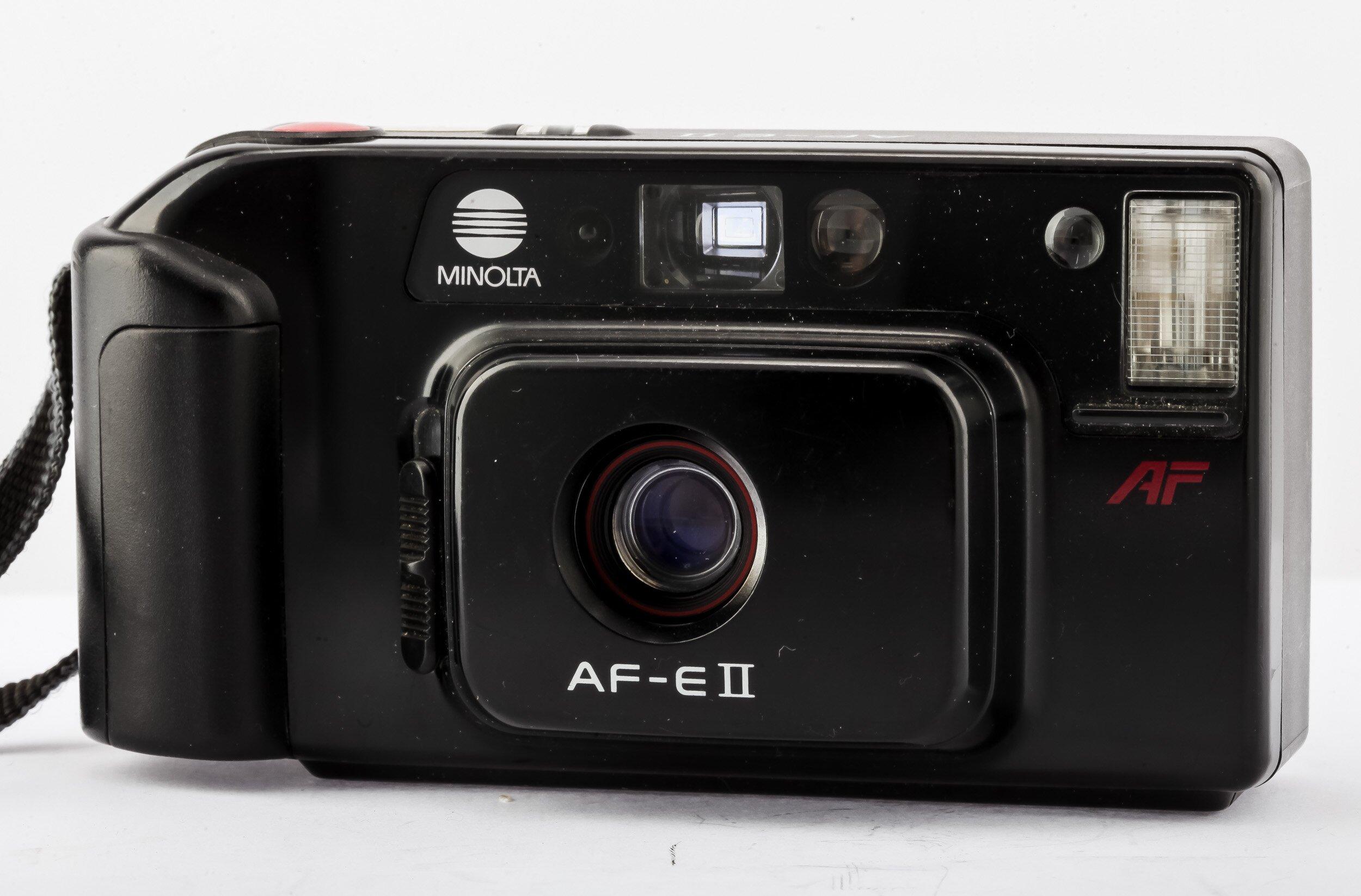Minolta AF-E II AF Analoge Kompaktkamera