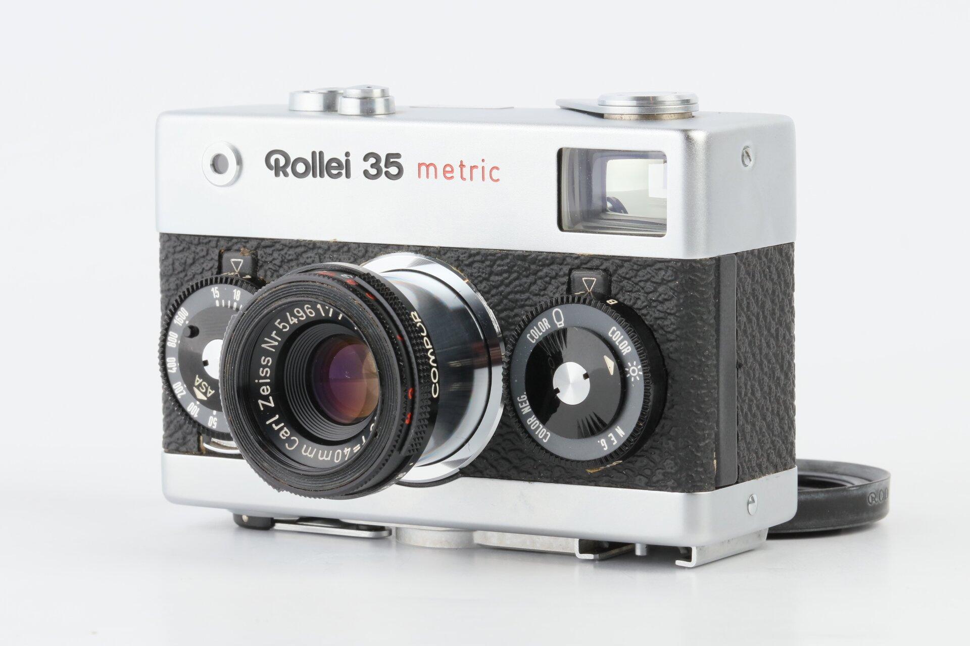 Rollei 35 Metric mit Tessar 40mm F3,5