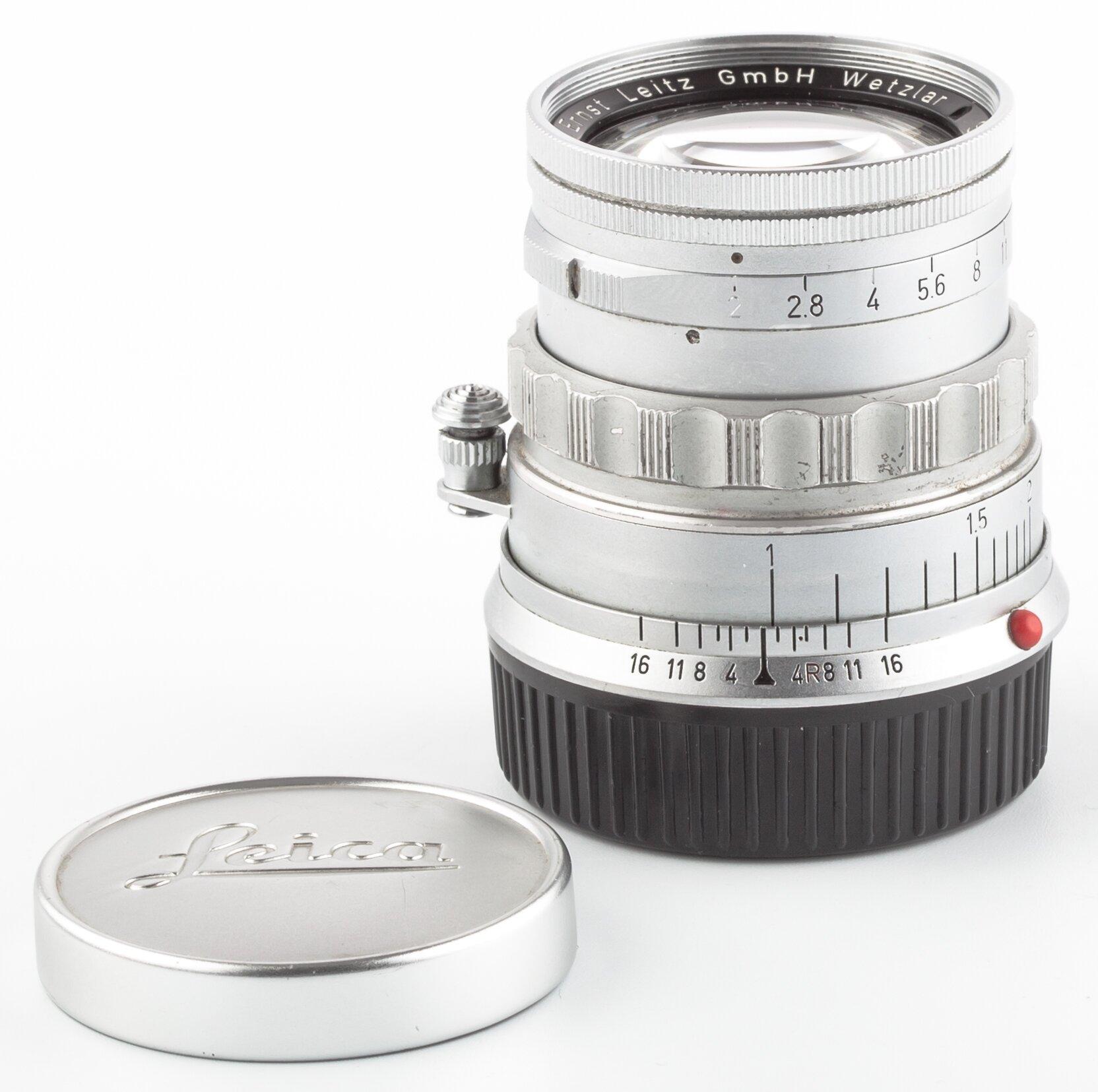 Leica M Summicron 5 cm F2 rigid 11818