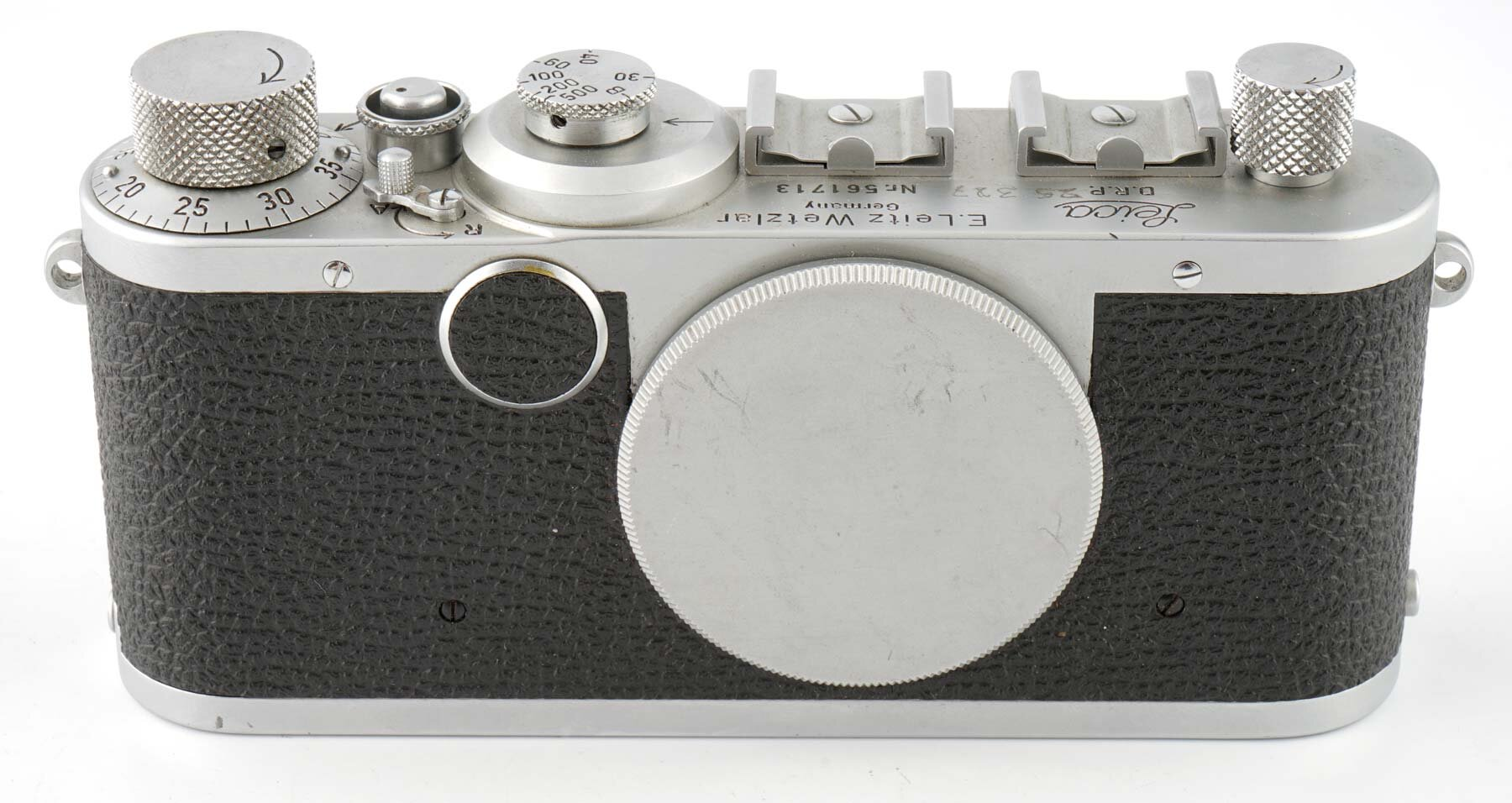 Leica Ic Gehäuse silber 1951