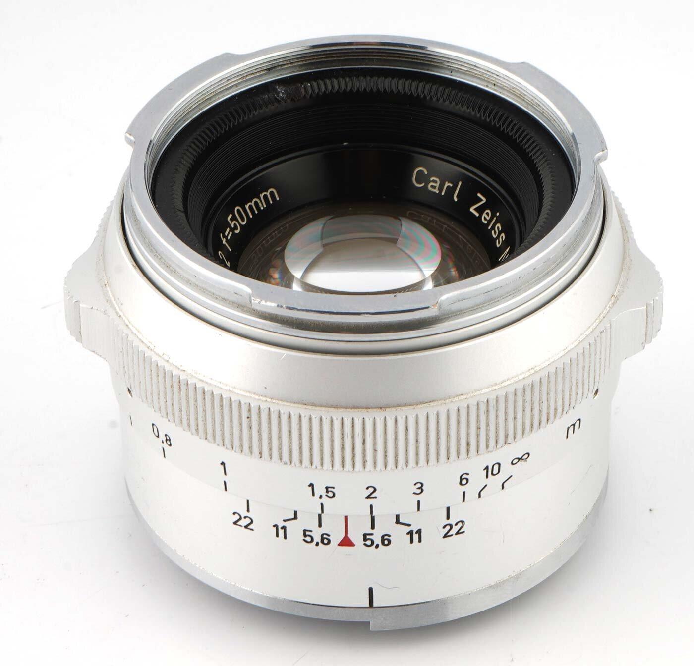Carl Zeiss Planar 50mm F2 für Contarex