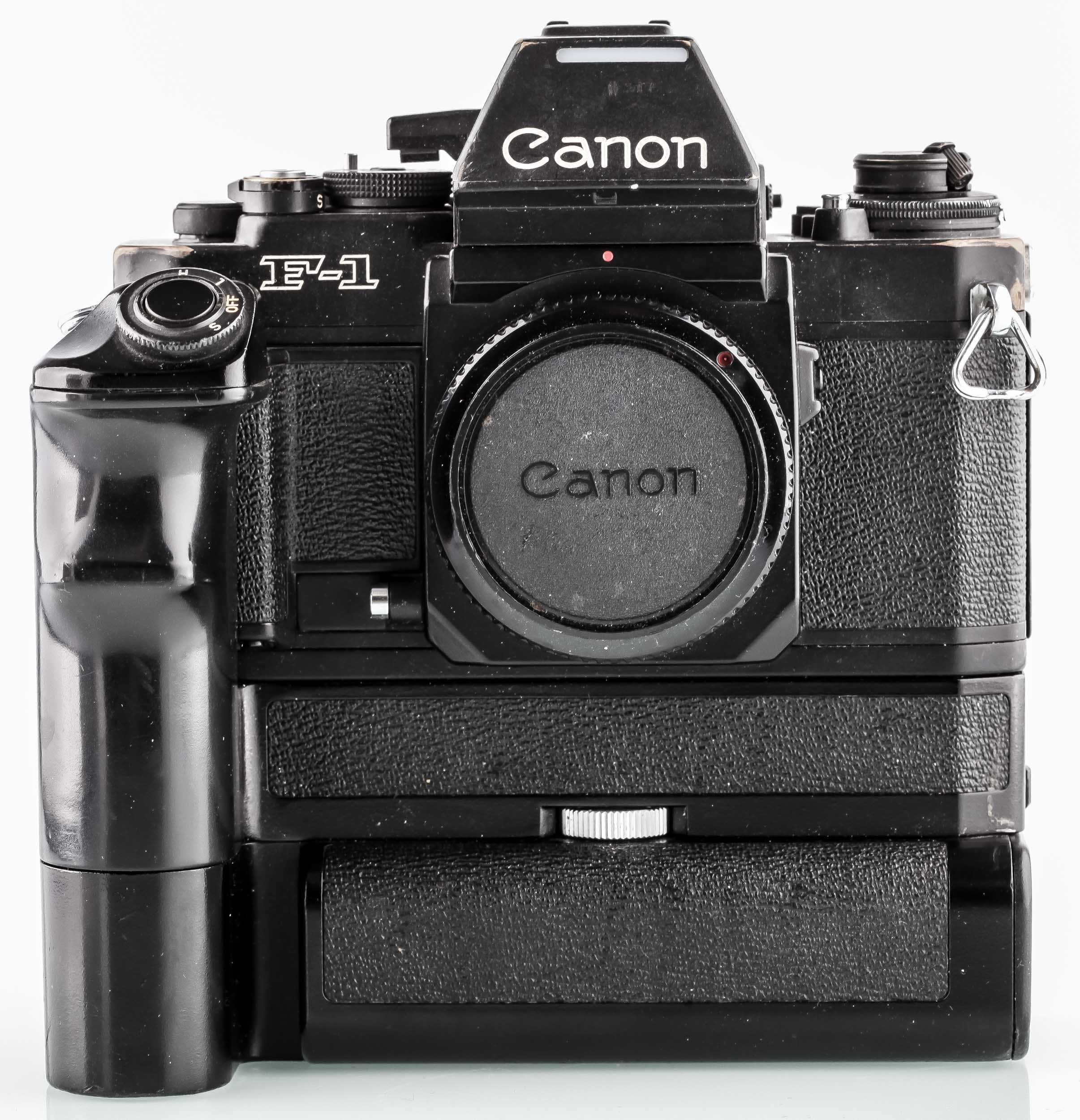Canon F-1 - Canon AE Motor Drive FN