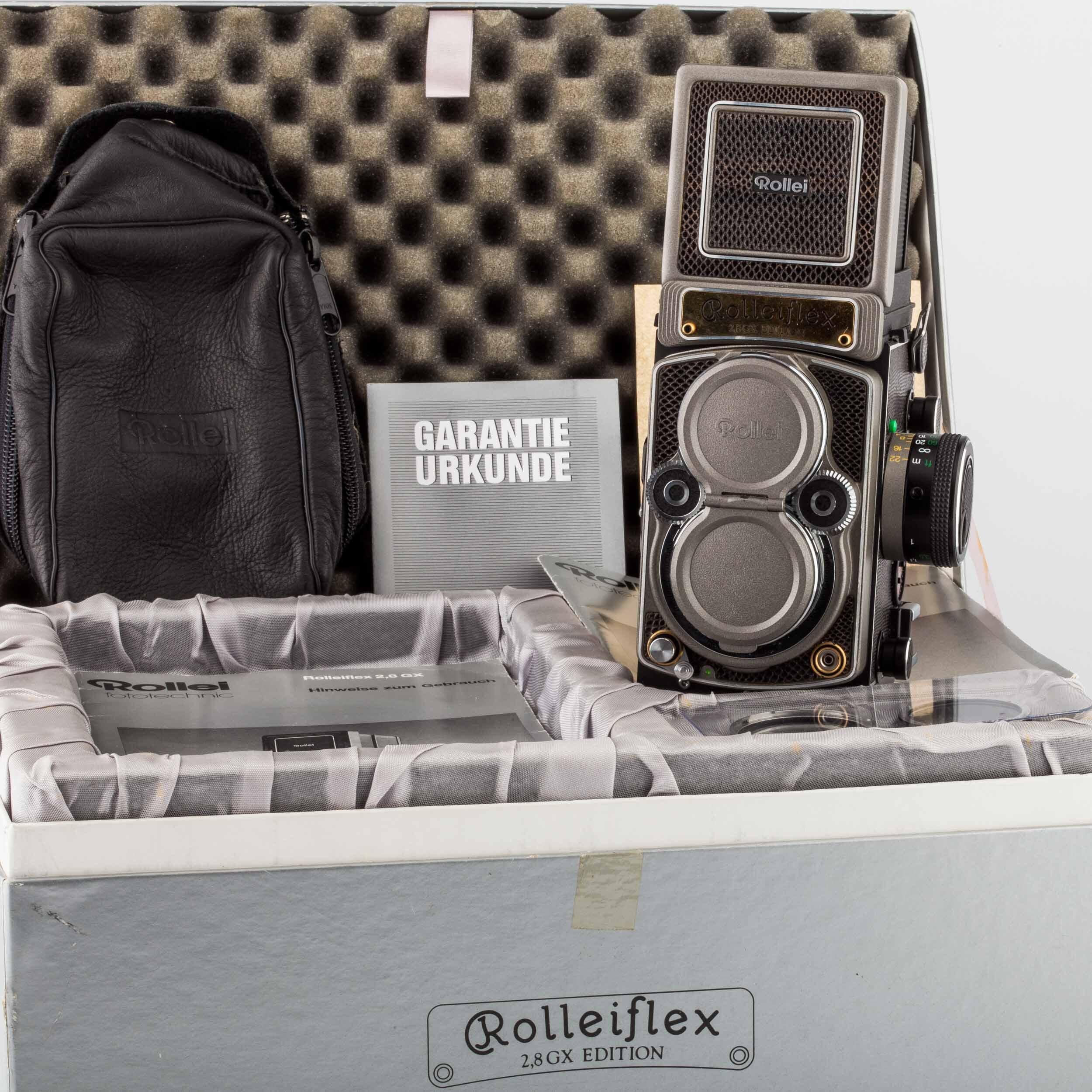 Rolleiflex 2,8 GX Edition Box Set