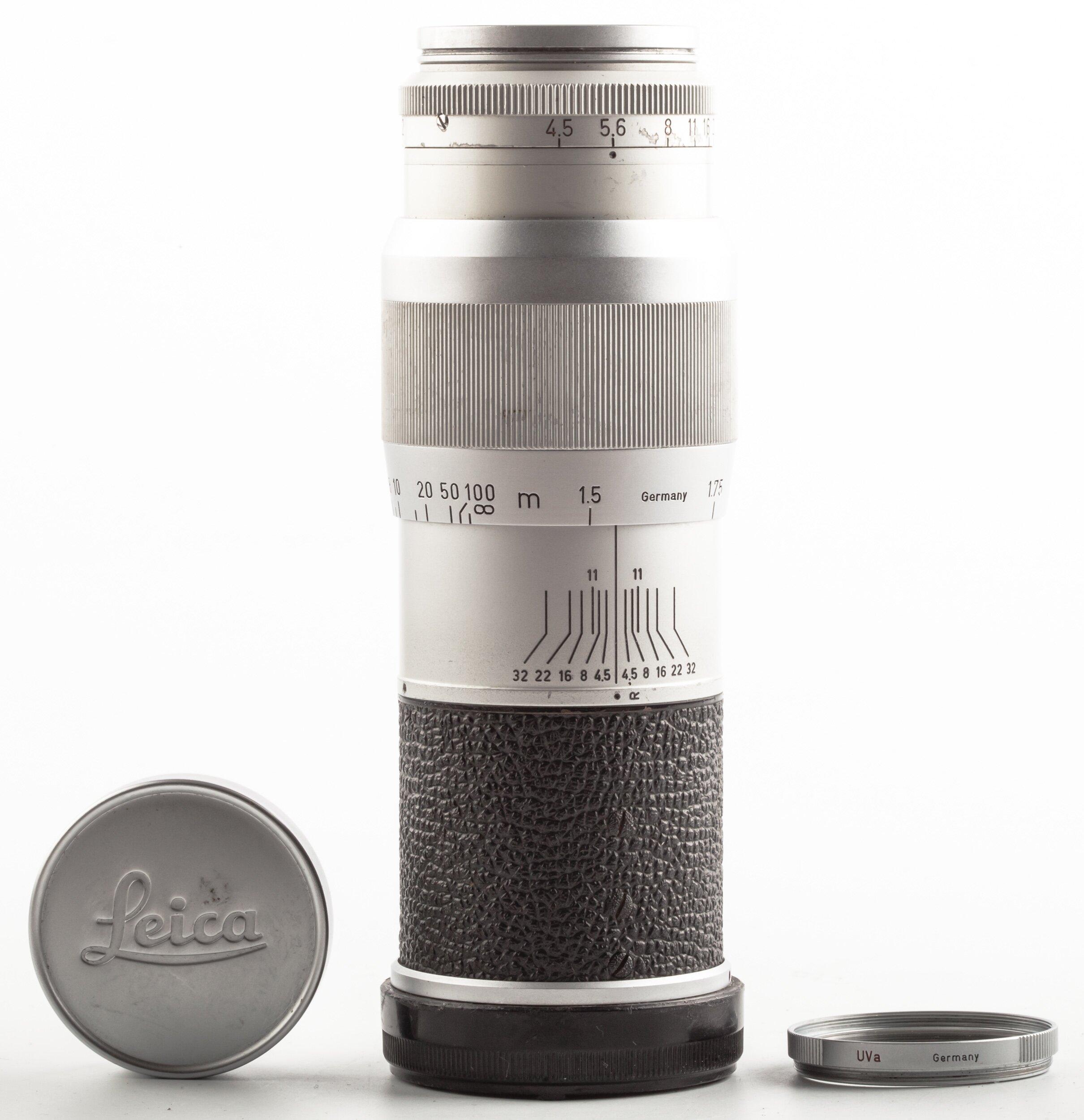 Leitz Leica Hektor M 135mm F4.5 Silver