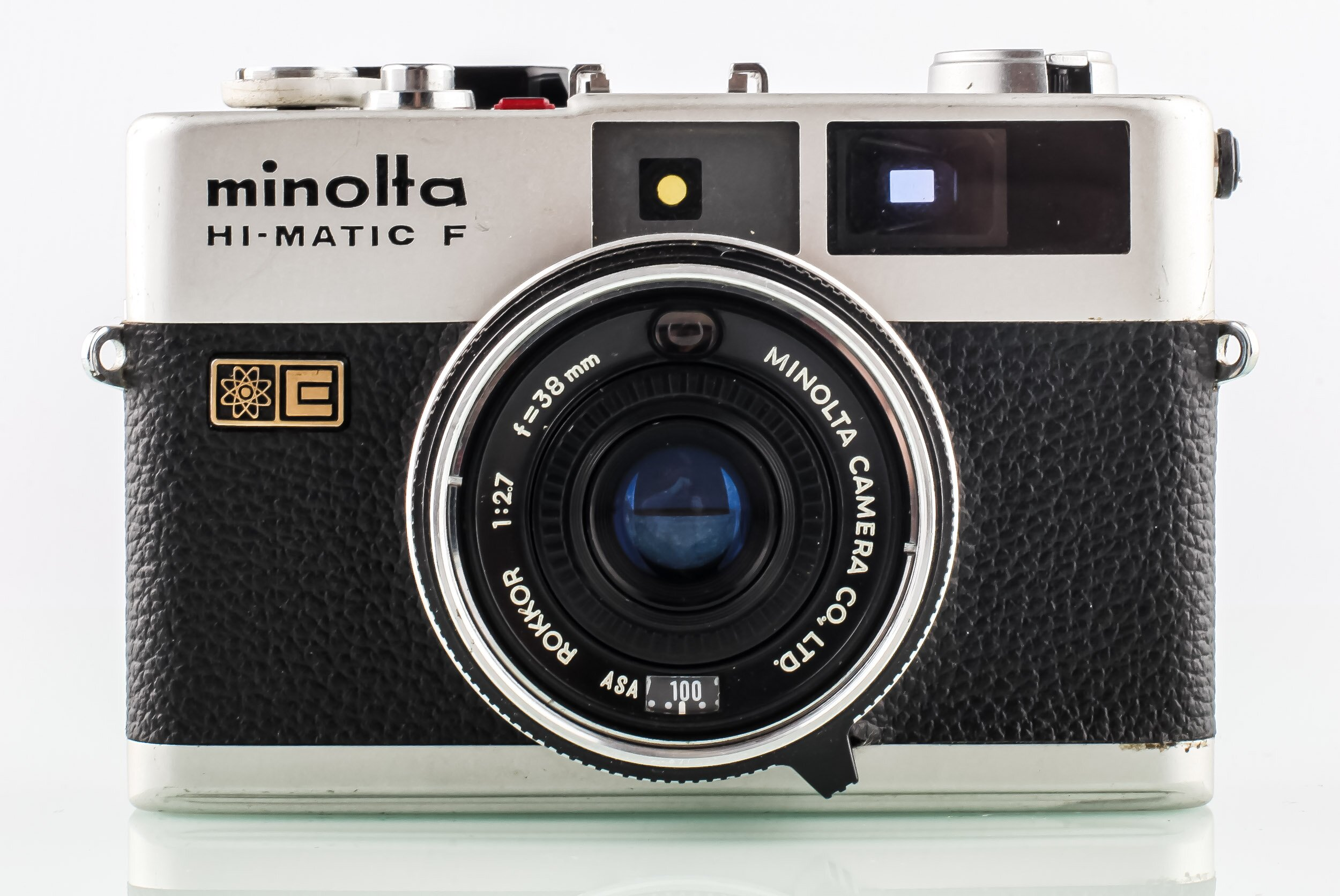 Minolta HI-Matic F Analoge Kompaktkamera