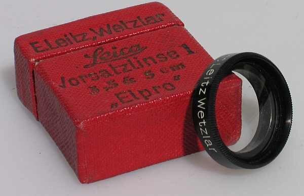 Leica f. 3,5 und 5cm Elpro 1