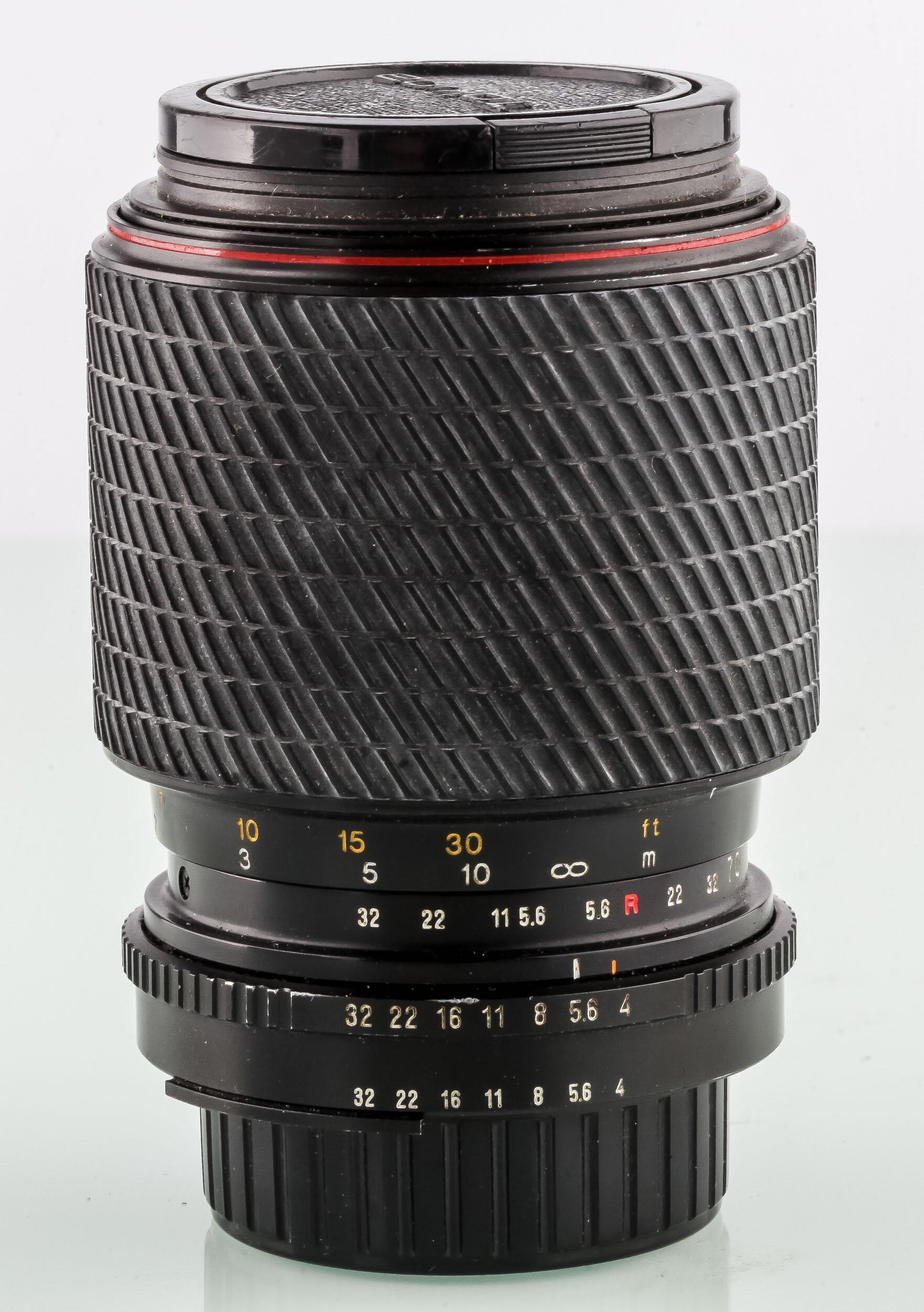 Tokina f.Nikon 70-210mm 4,5-5,6 SD manuelles Objektiv