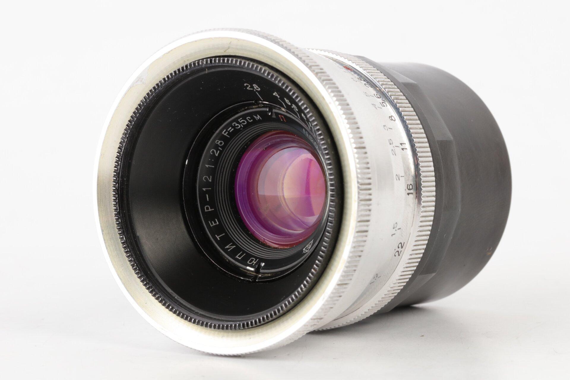 Jupiter-12 2,8/35mm silber M39