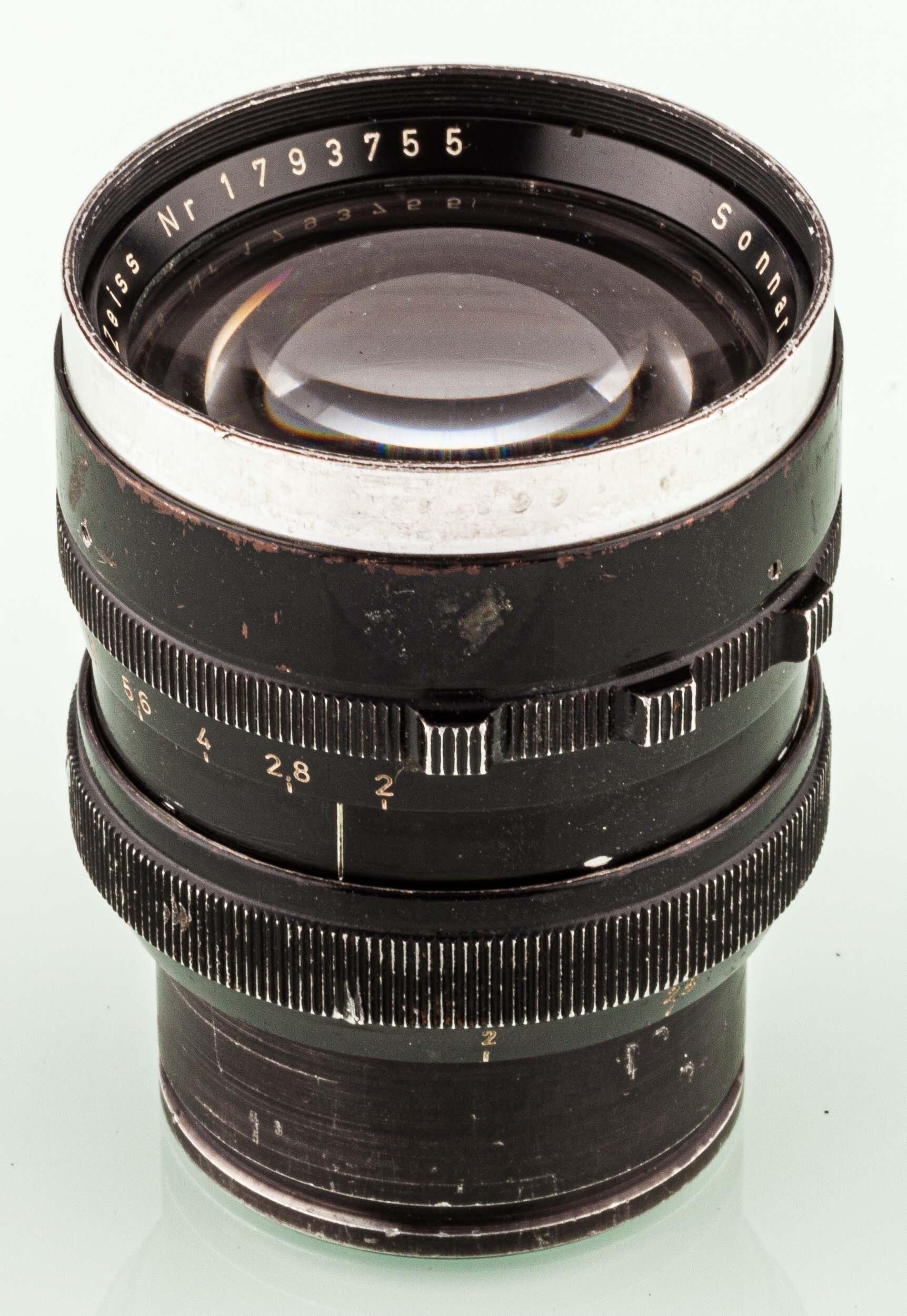 Carl Zeiss Sonnar 2/85mm Arriflex standard