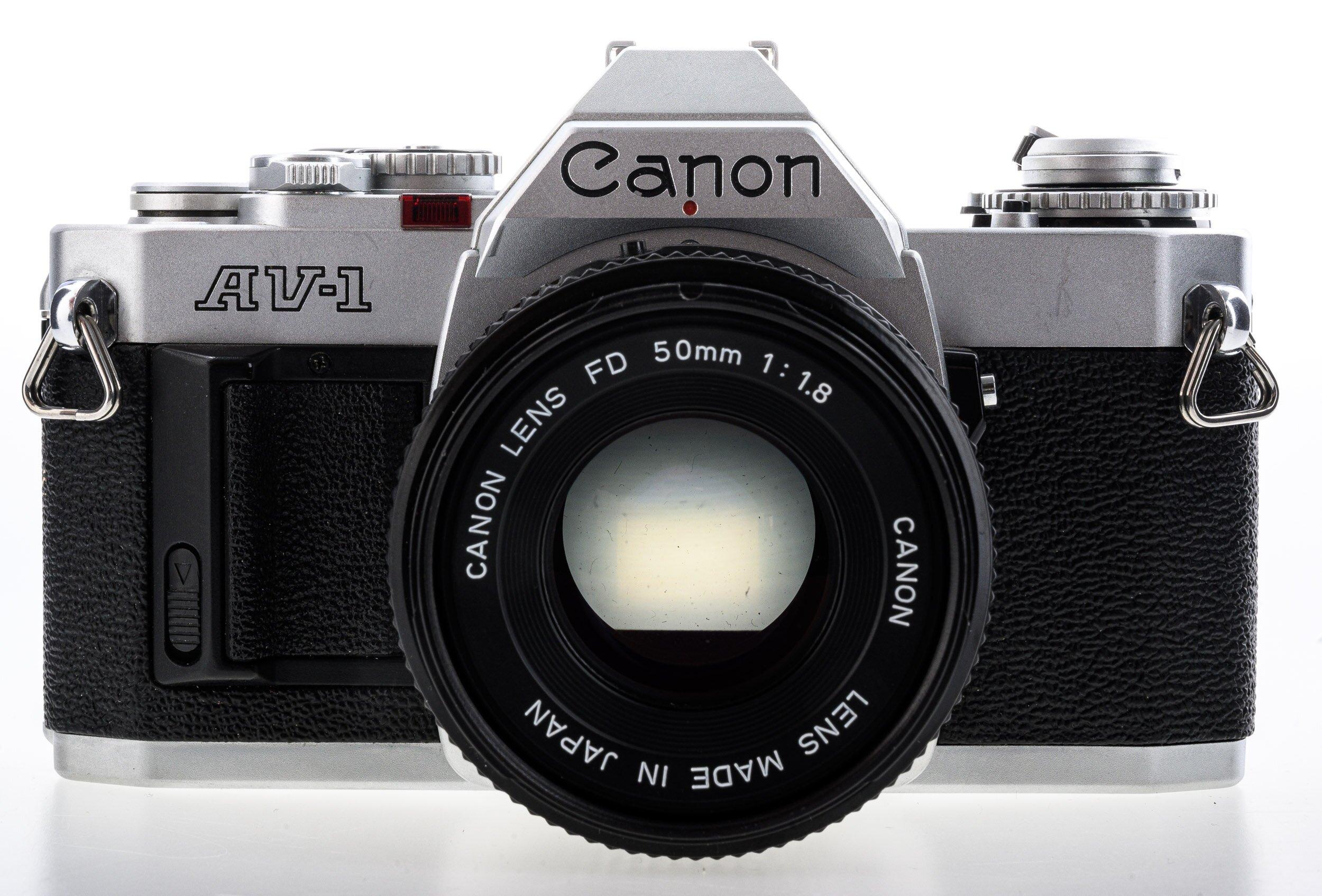 Canon AV-1 Canon FD 50mm/1,8
