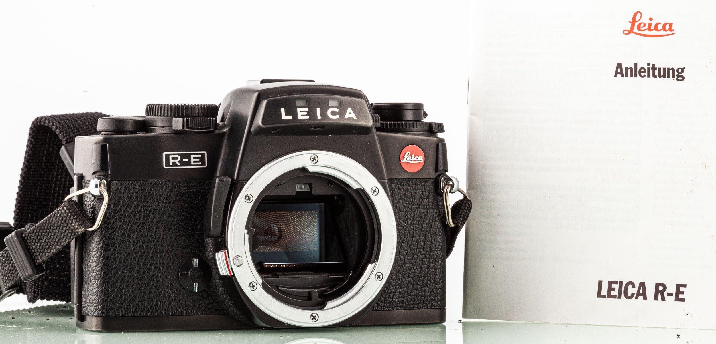 Leitz Leica R-E Body Black