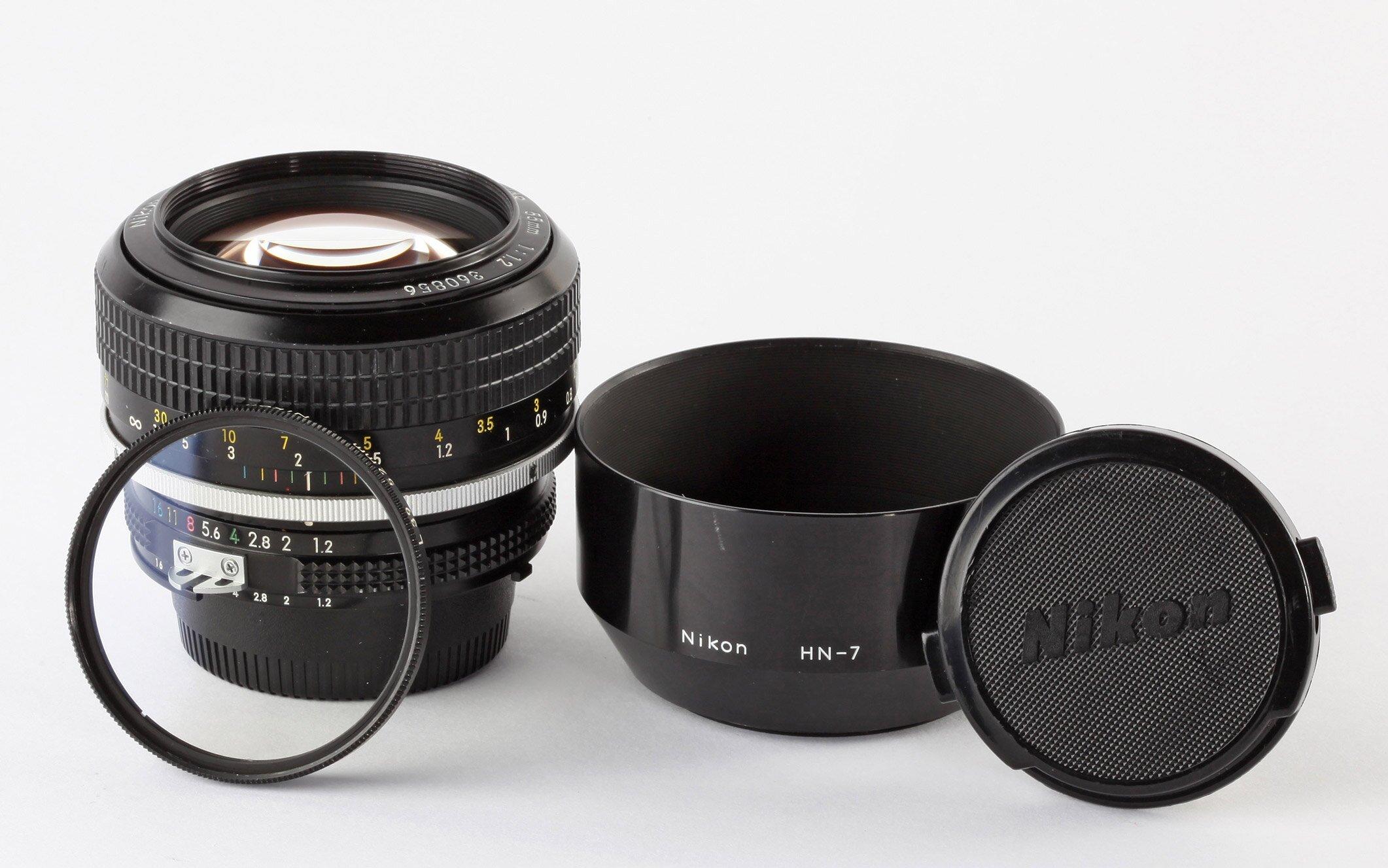 Nikon Nikkor 55mm/1,2 AIS