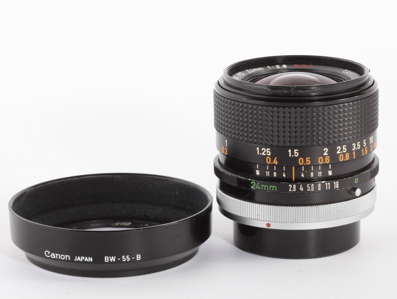 Canon FD 24mm/2,8 S.S.C