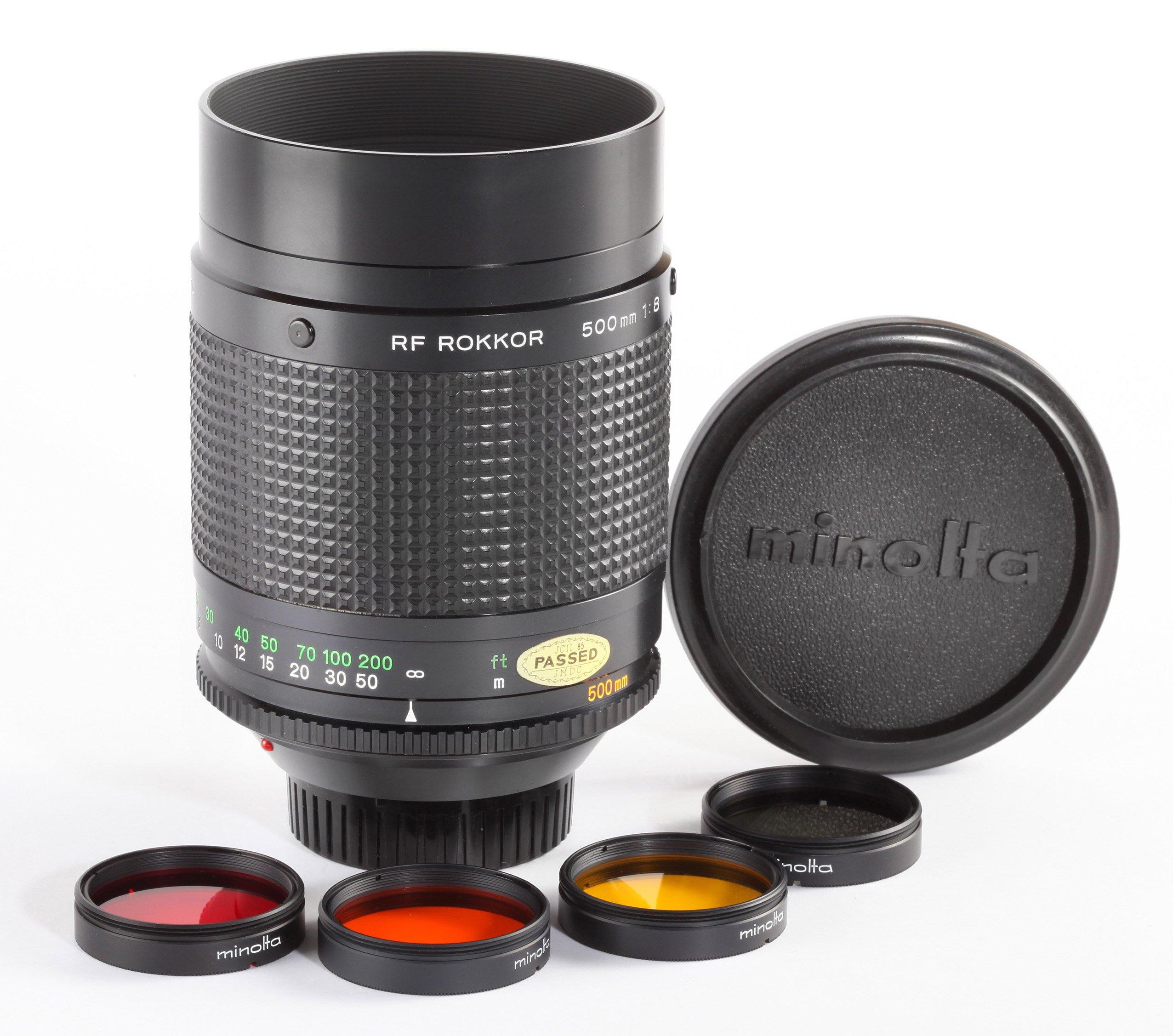 Minolta RF Rokkor 1,8/500mm