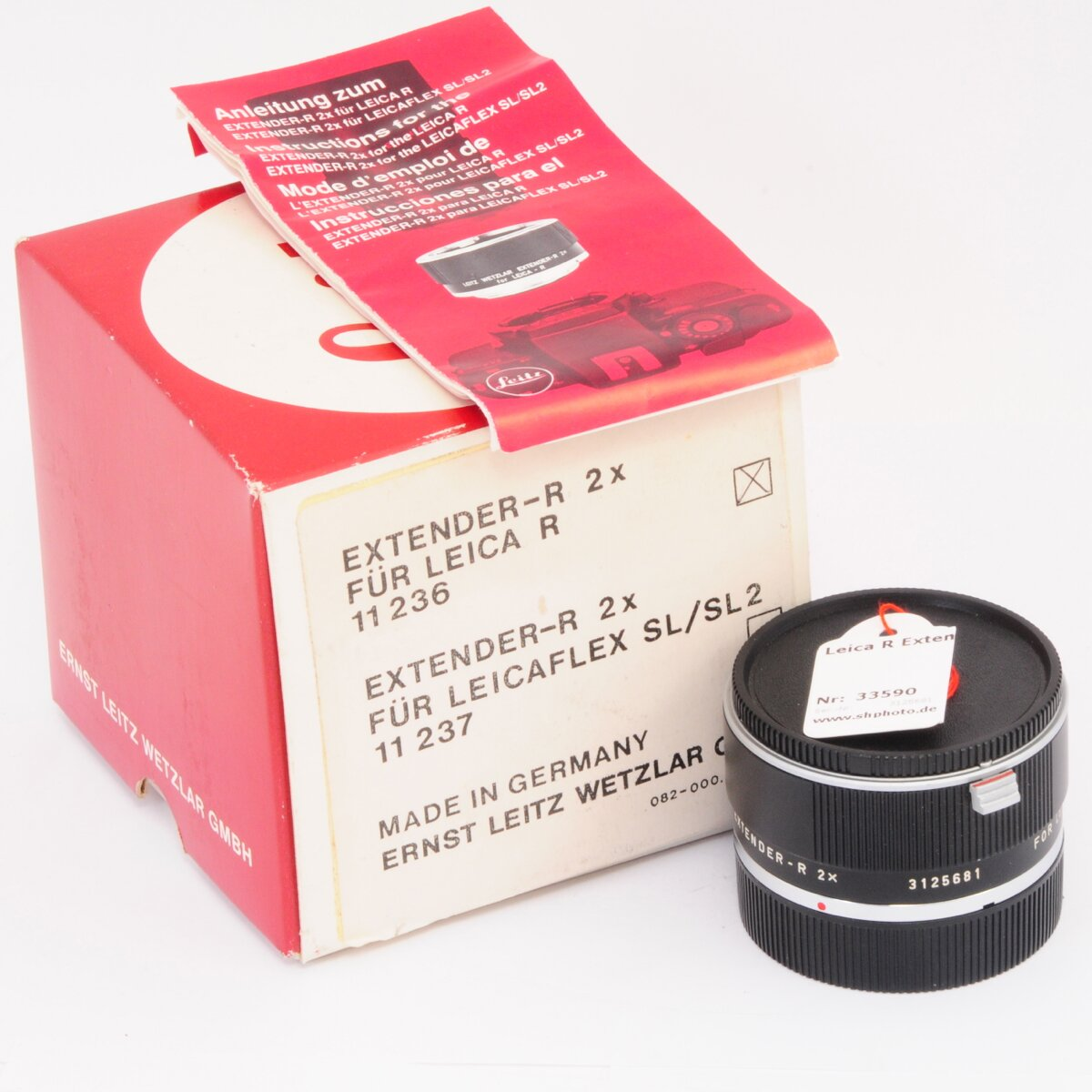 Leica R Extender 2x