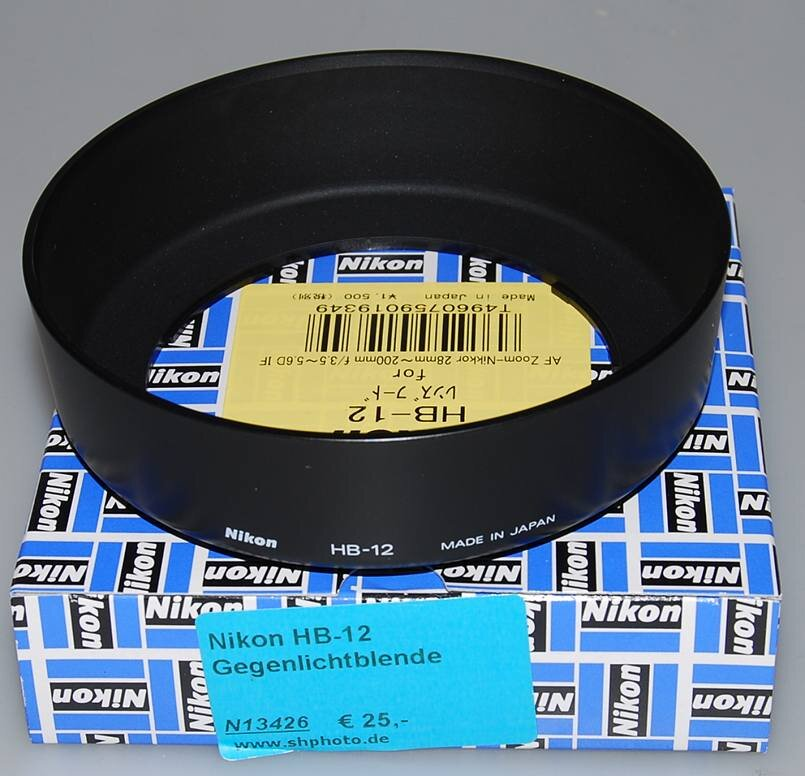 Nikon HB-12 Gegenlichtblende