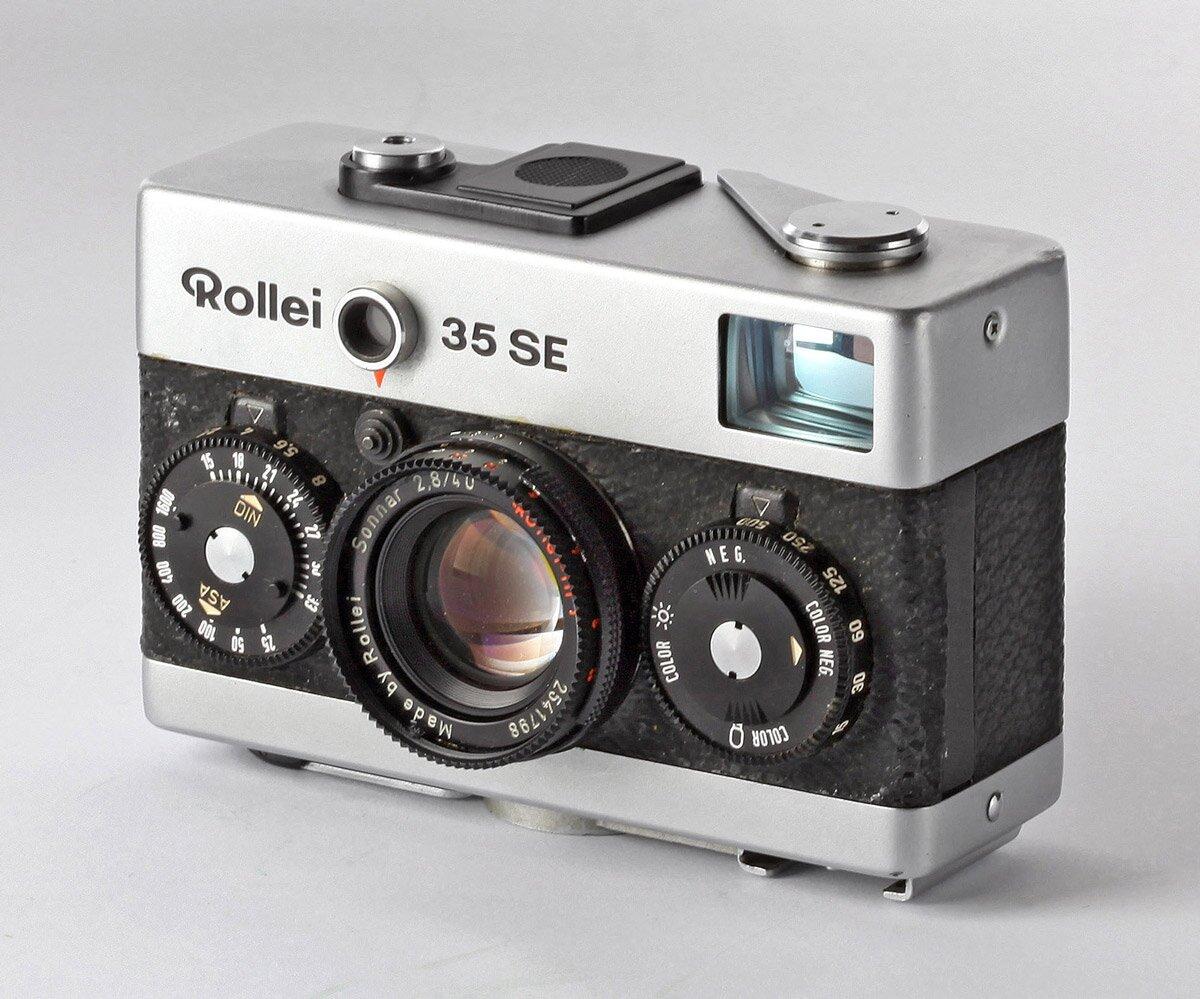 Rollei 35 SE chrom Sonnar 2,8/40mm
