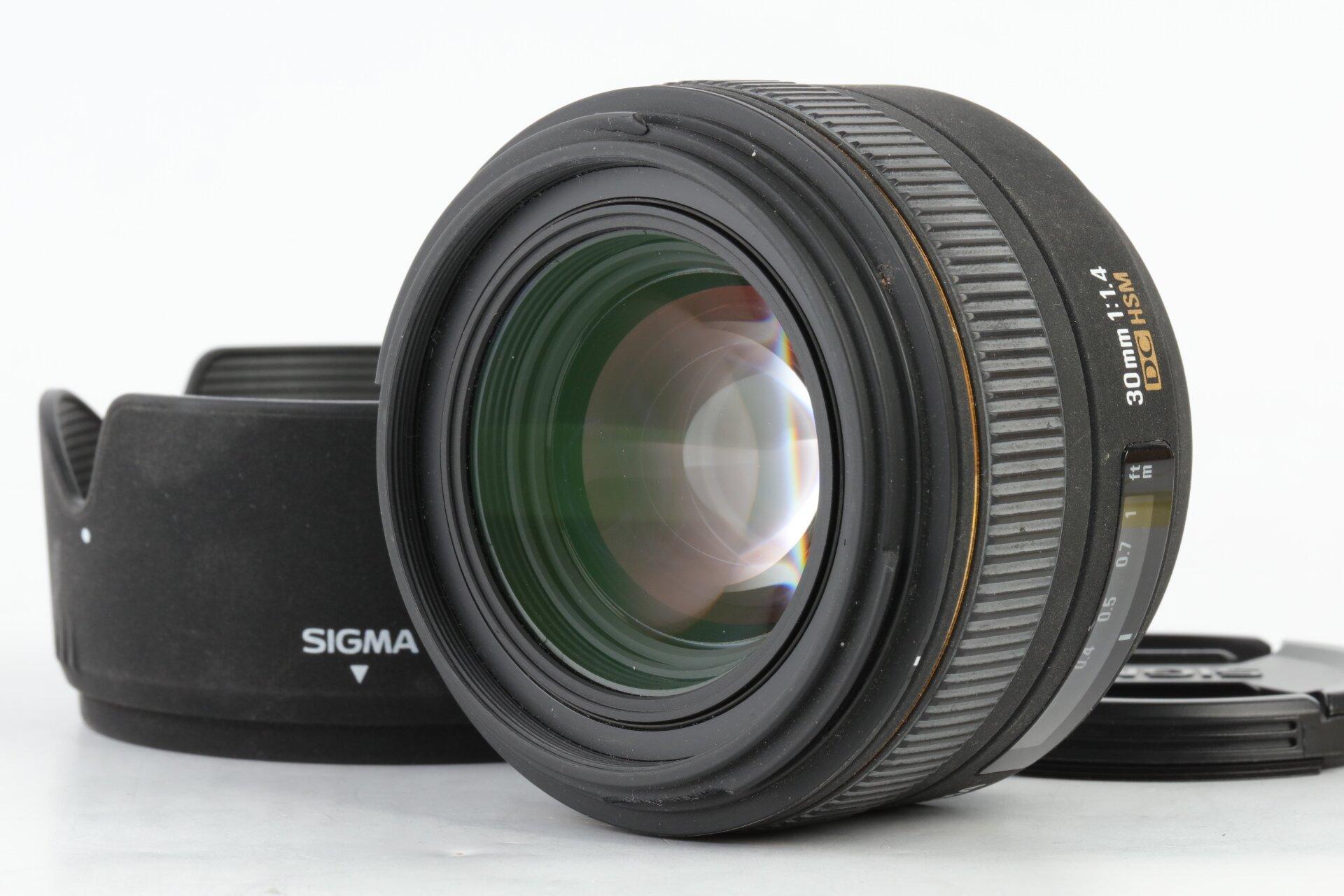 Sigma 30mm 1,4 DC HSM EX für Nikon F