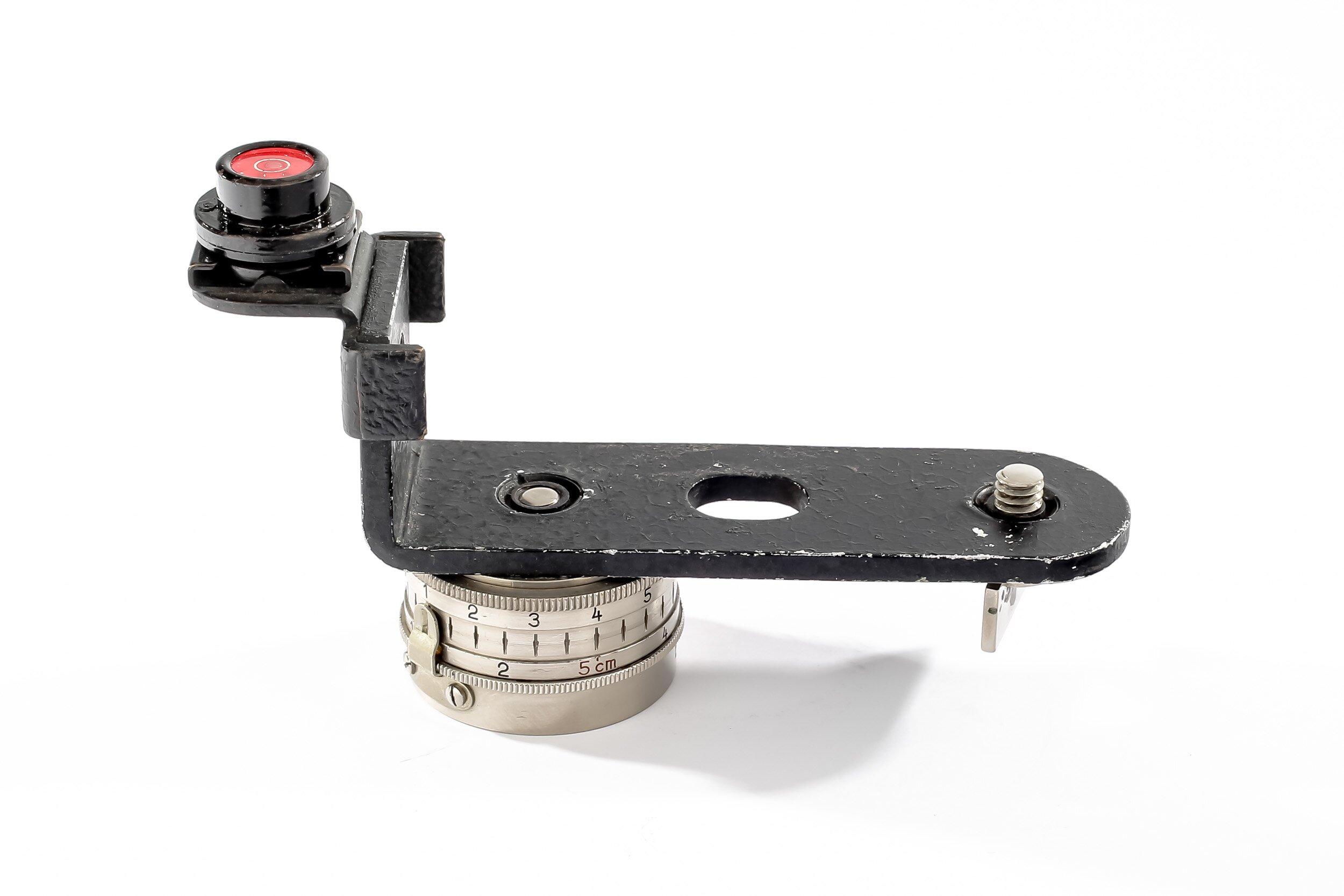 Leica Panoramakopf + Winkelschiene + Wasserwaage