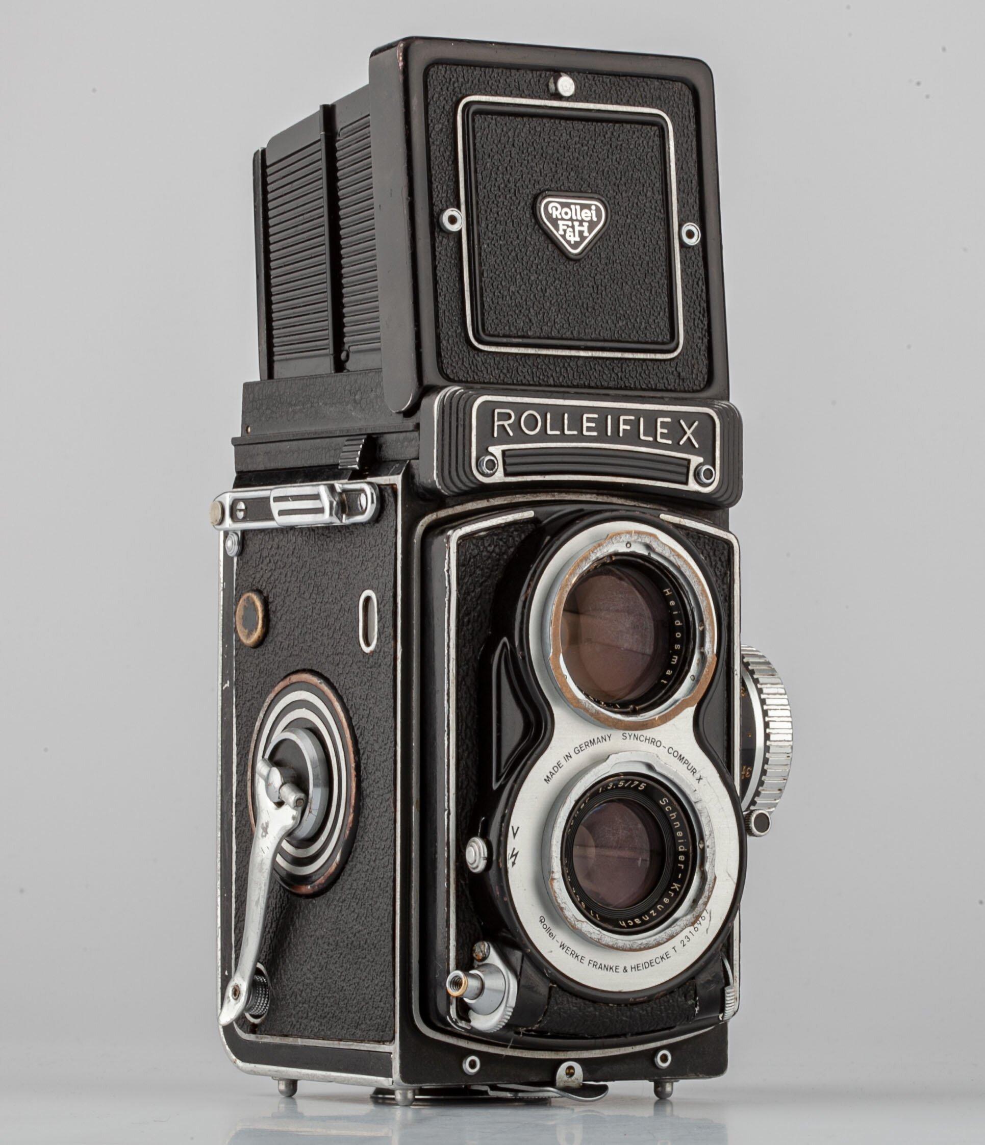 Rolleiflex T White Face 75mm F3.5