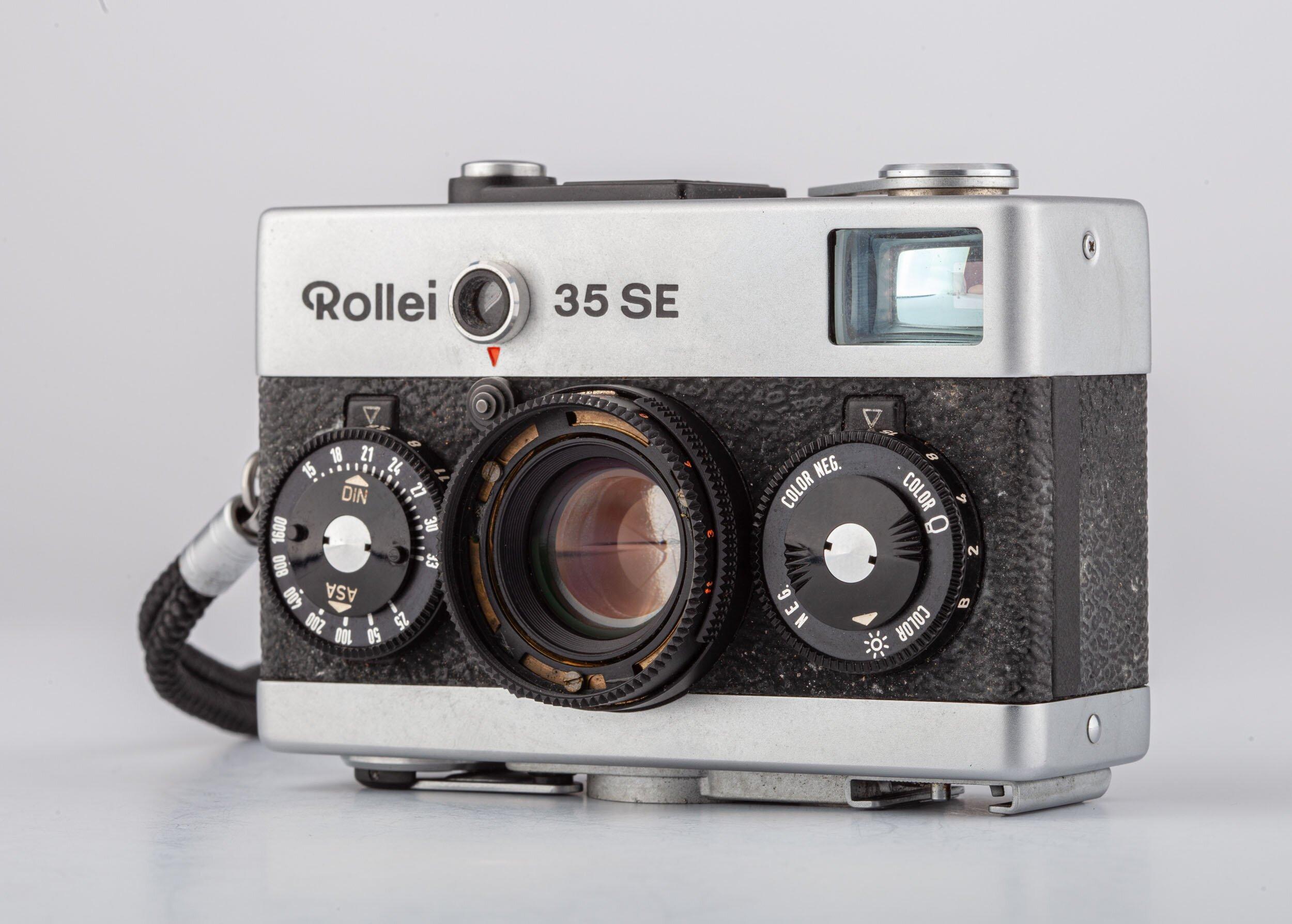 Rollei 35 SE Sonnar 2,8/40mm chrom