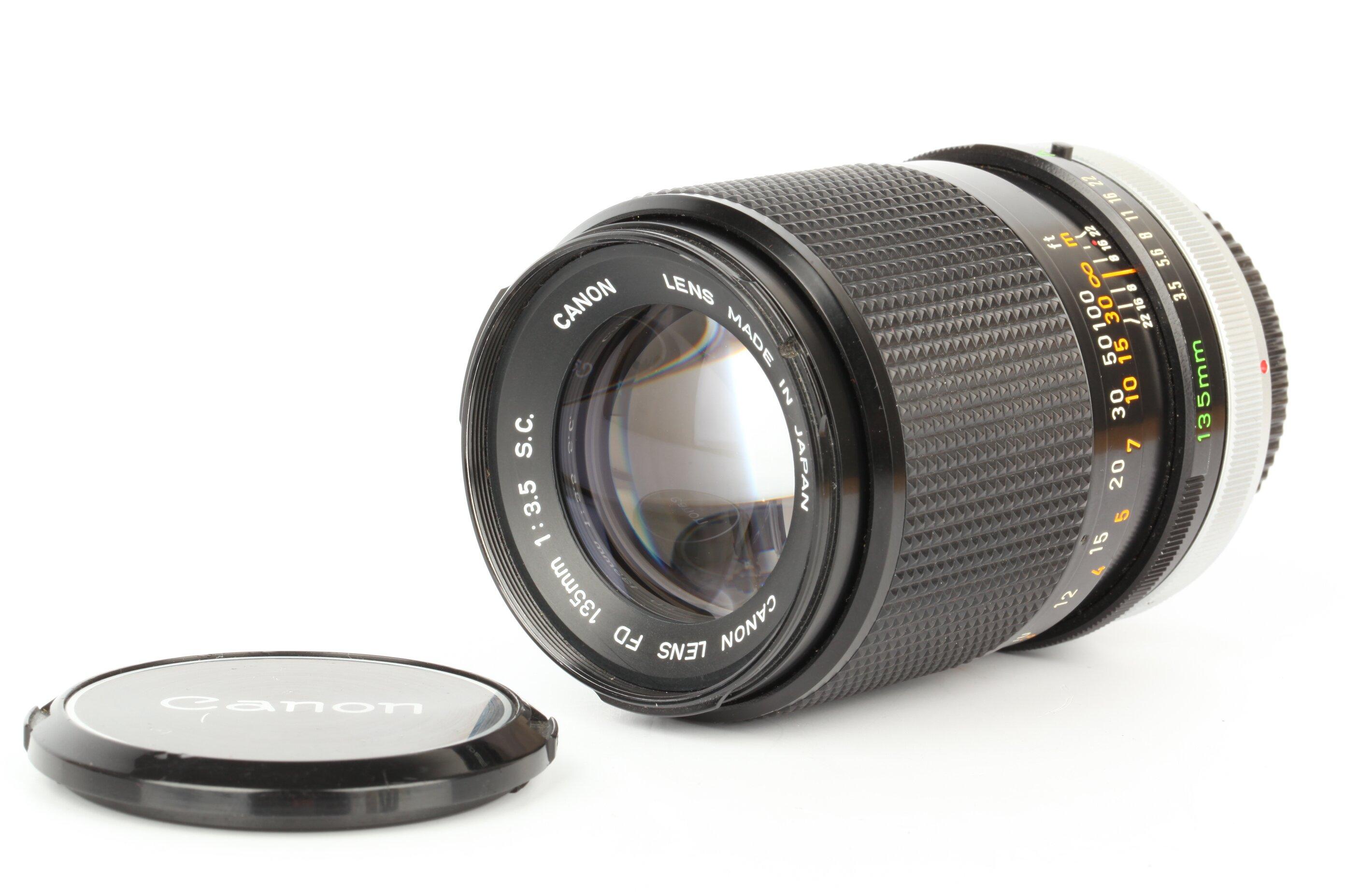 Canon FD 135mm 3,5 SC