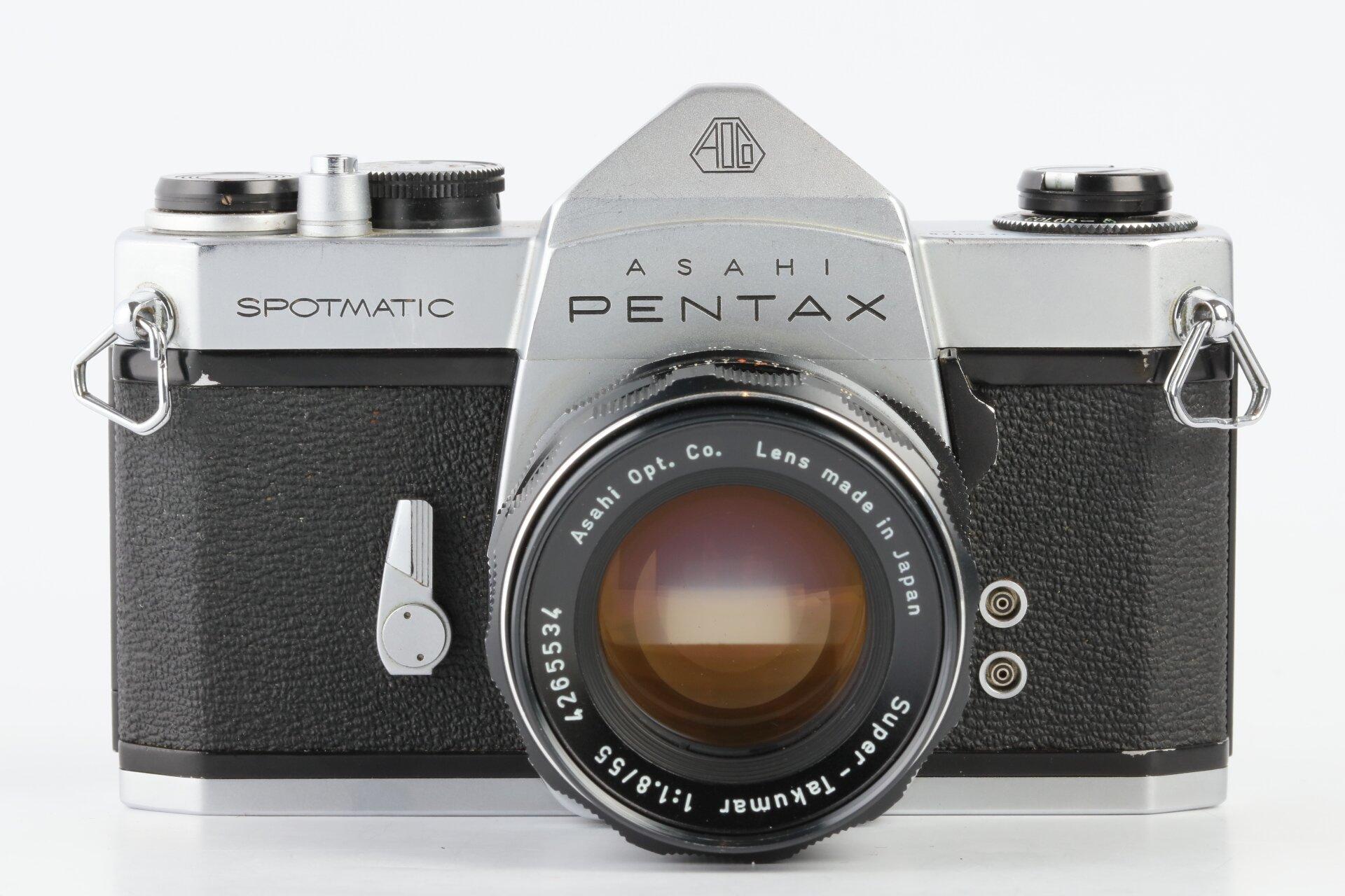 Pentax Spotmatic SP + Super-Takumar 1,8/55mm M42