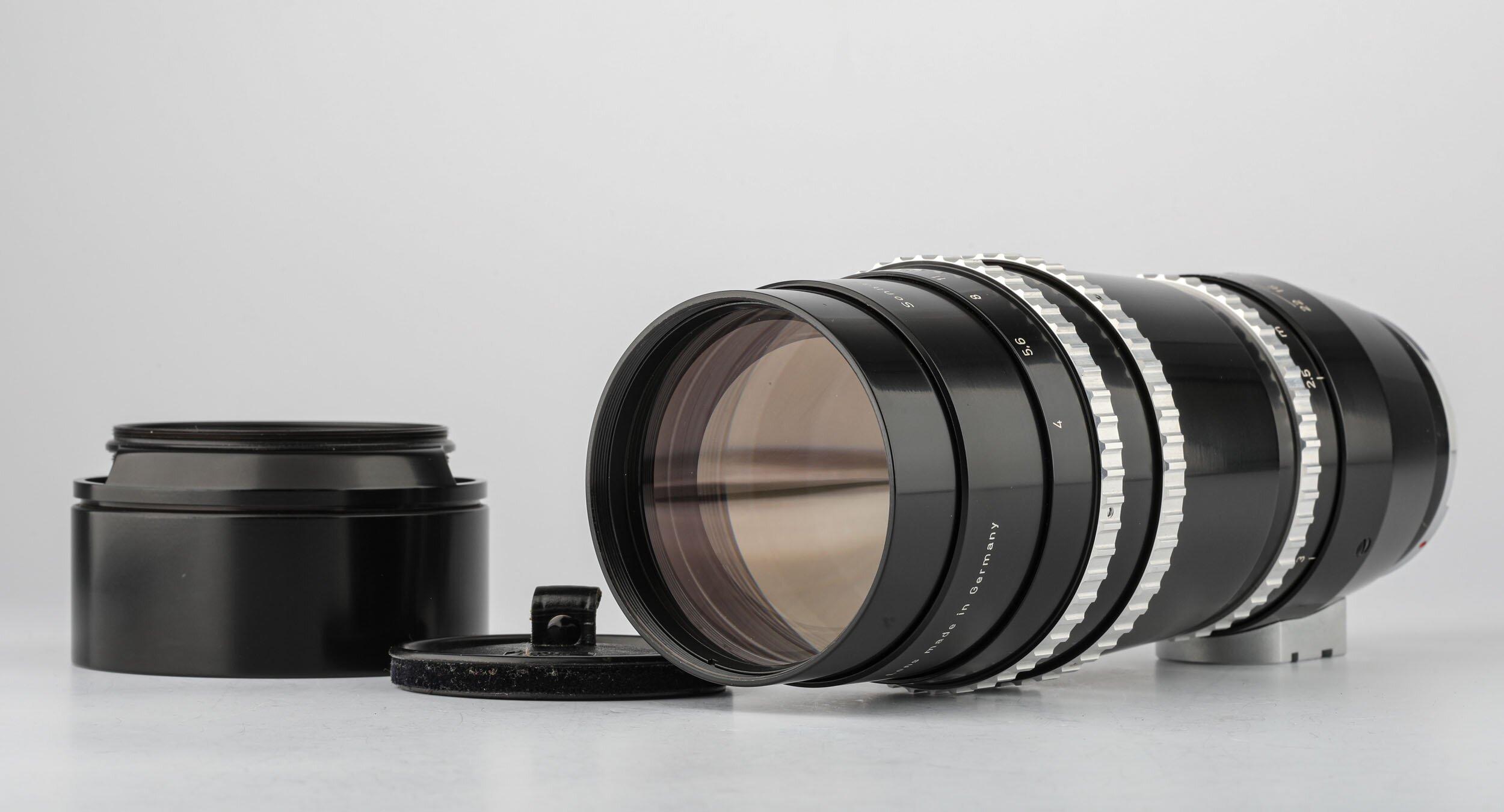 Carl Zeiss f.Contarex Sonnar 4/250mm Objektiv