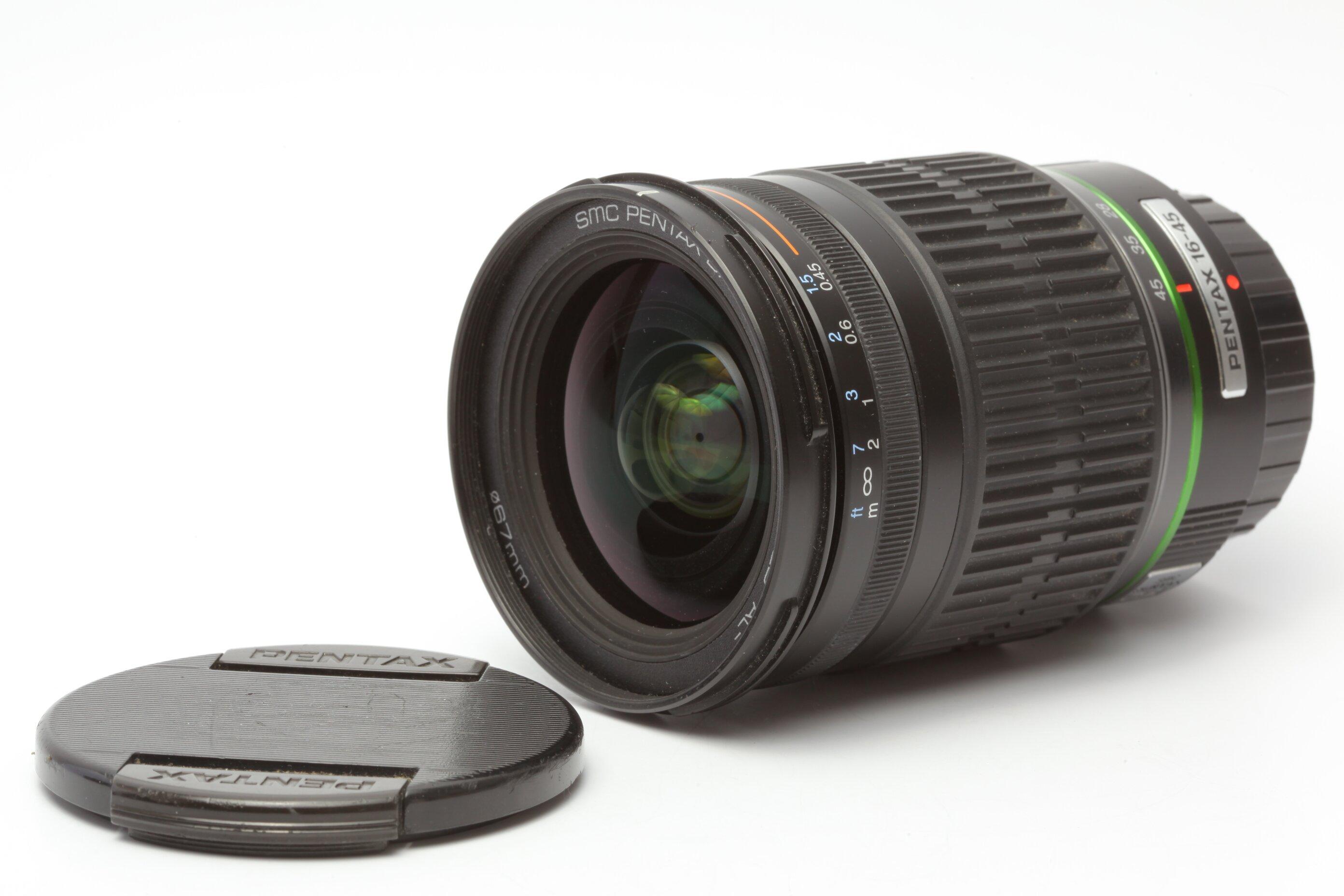 Pentax DA 4/16-45mm SMC ED AL für Pentax K