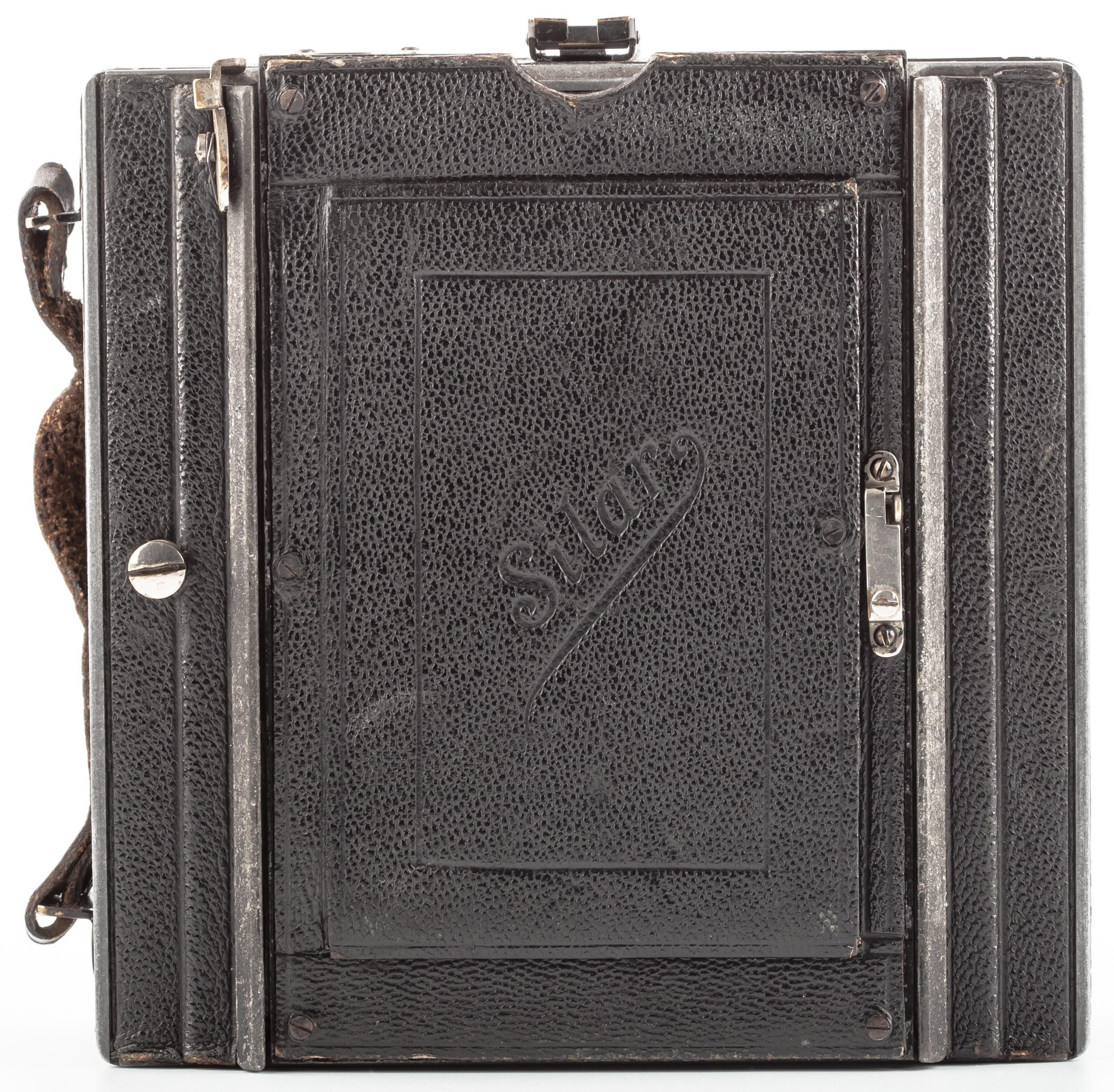 Meyer Silar Kamera 9x12 mit Meyer Satz-Plasmat 4,5/13,5 cm