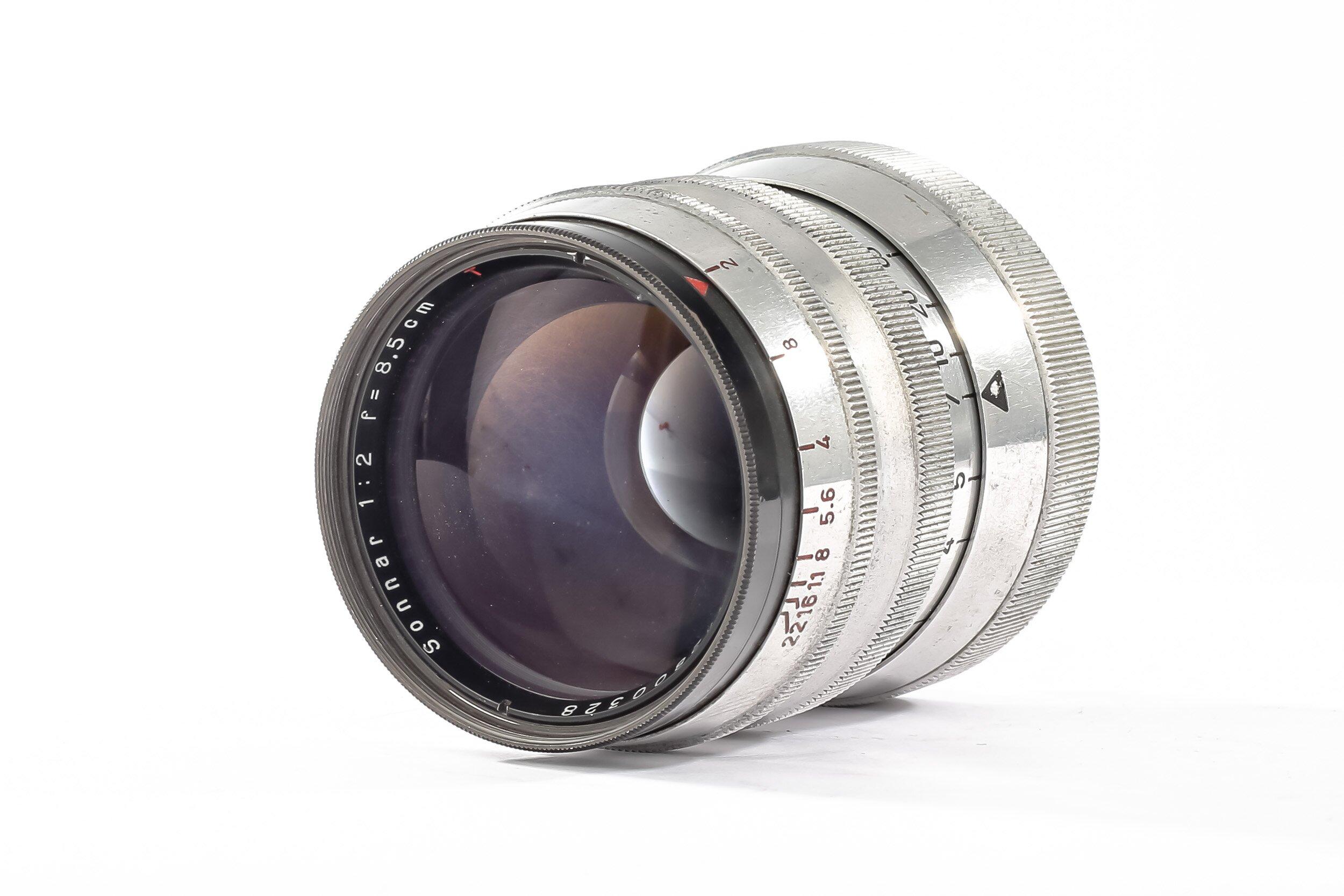 Carl Zeiss M39 Sonnar 2/8,5cm 85mm/2 T