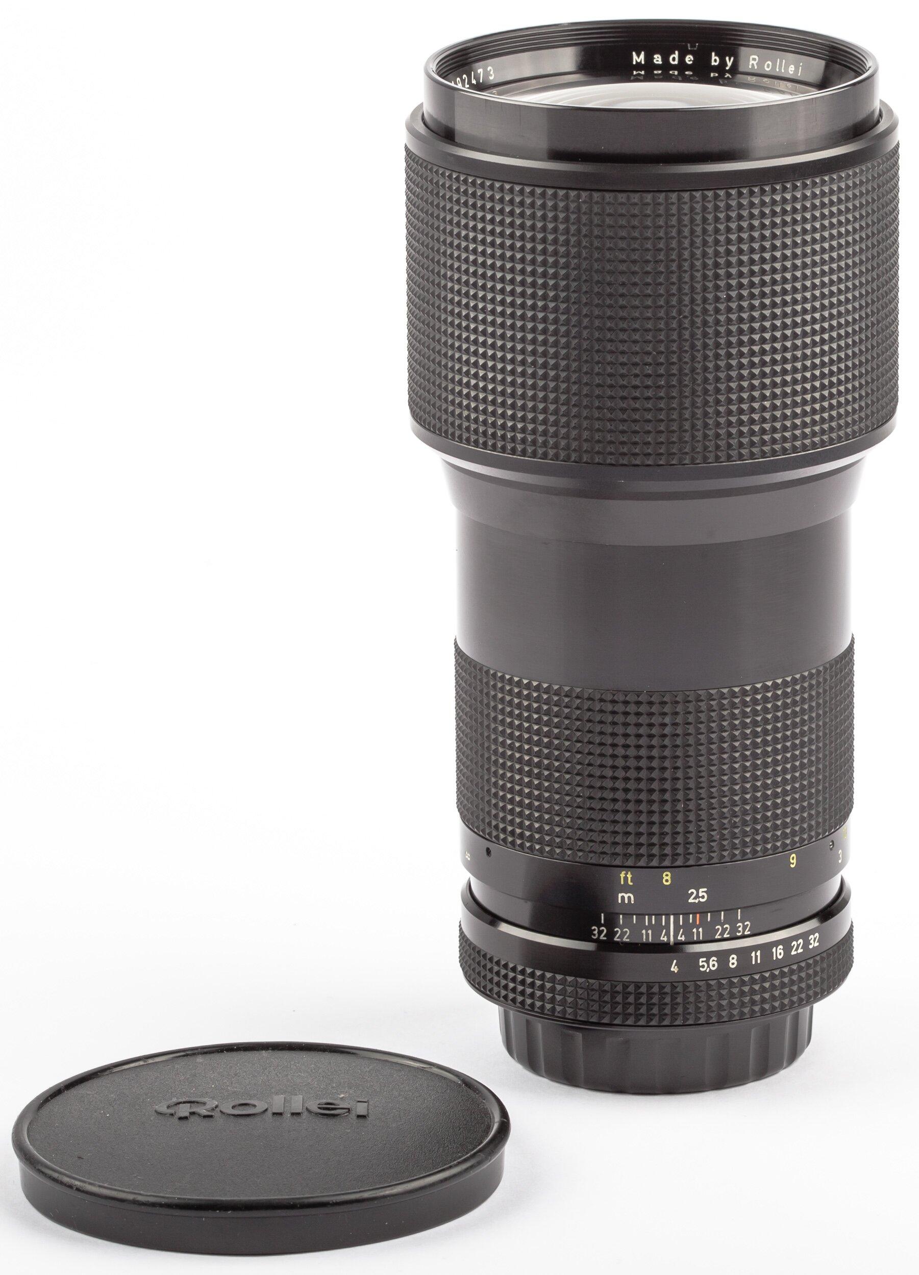 Rollei QBM 200mm F4.0 Tessar HFT