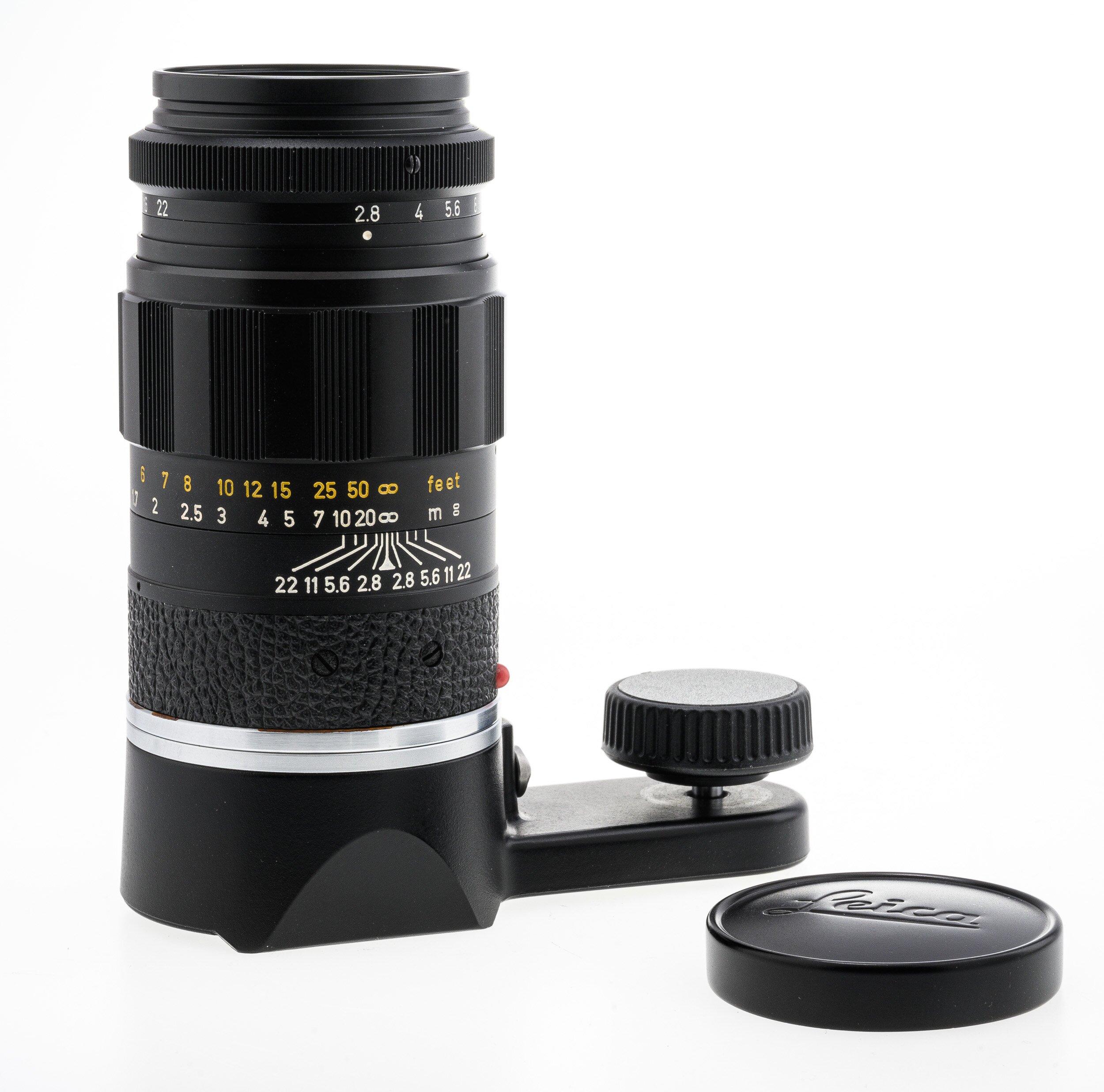Leica M Elmarit-M 2,8/90mm schwarz