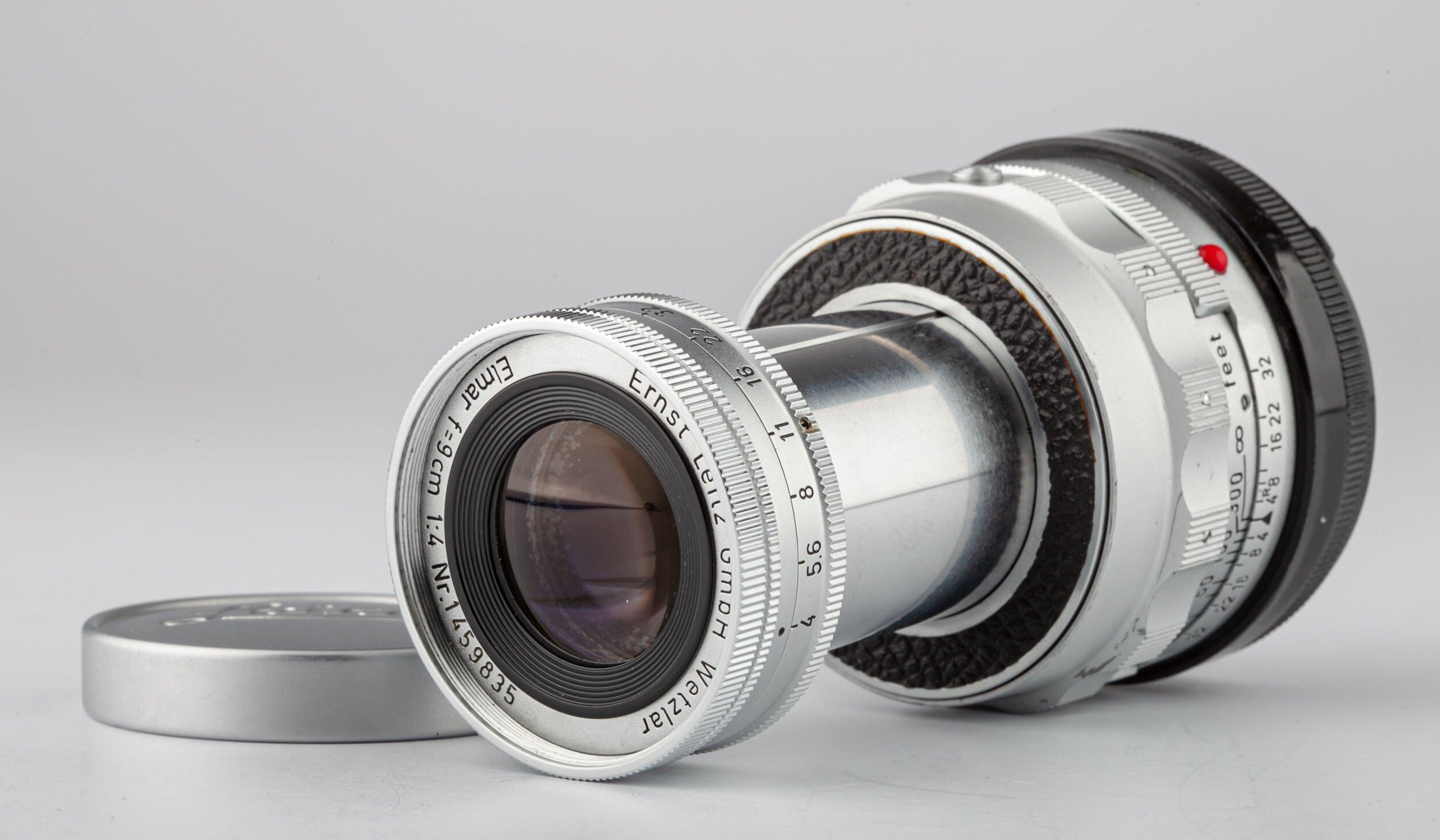 Leica Elmar M 9cm F4 colassabile