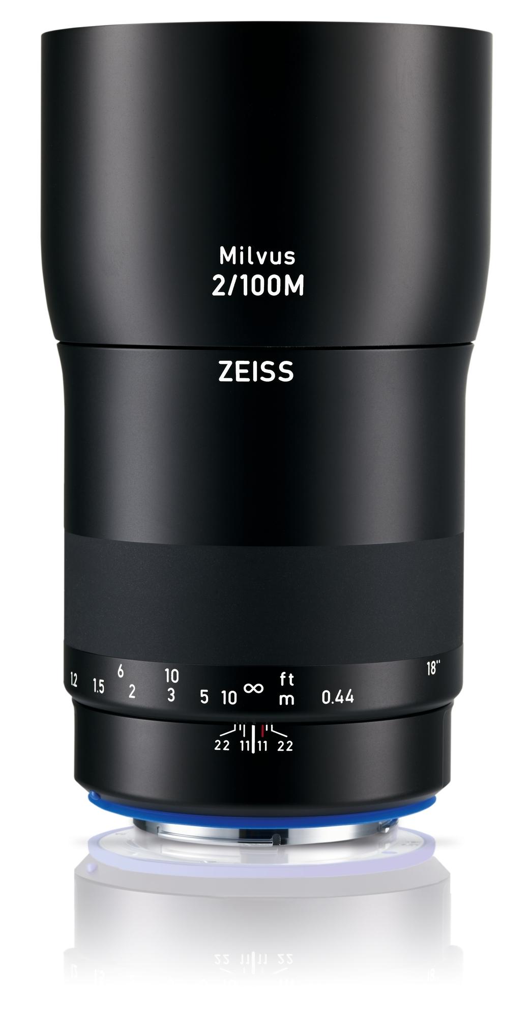 ZEISS Milvus 100mm 1:2,0 Makro ZE für Canon