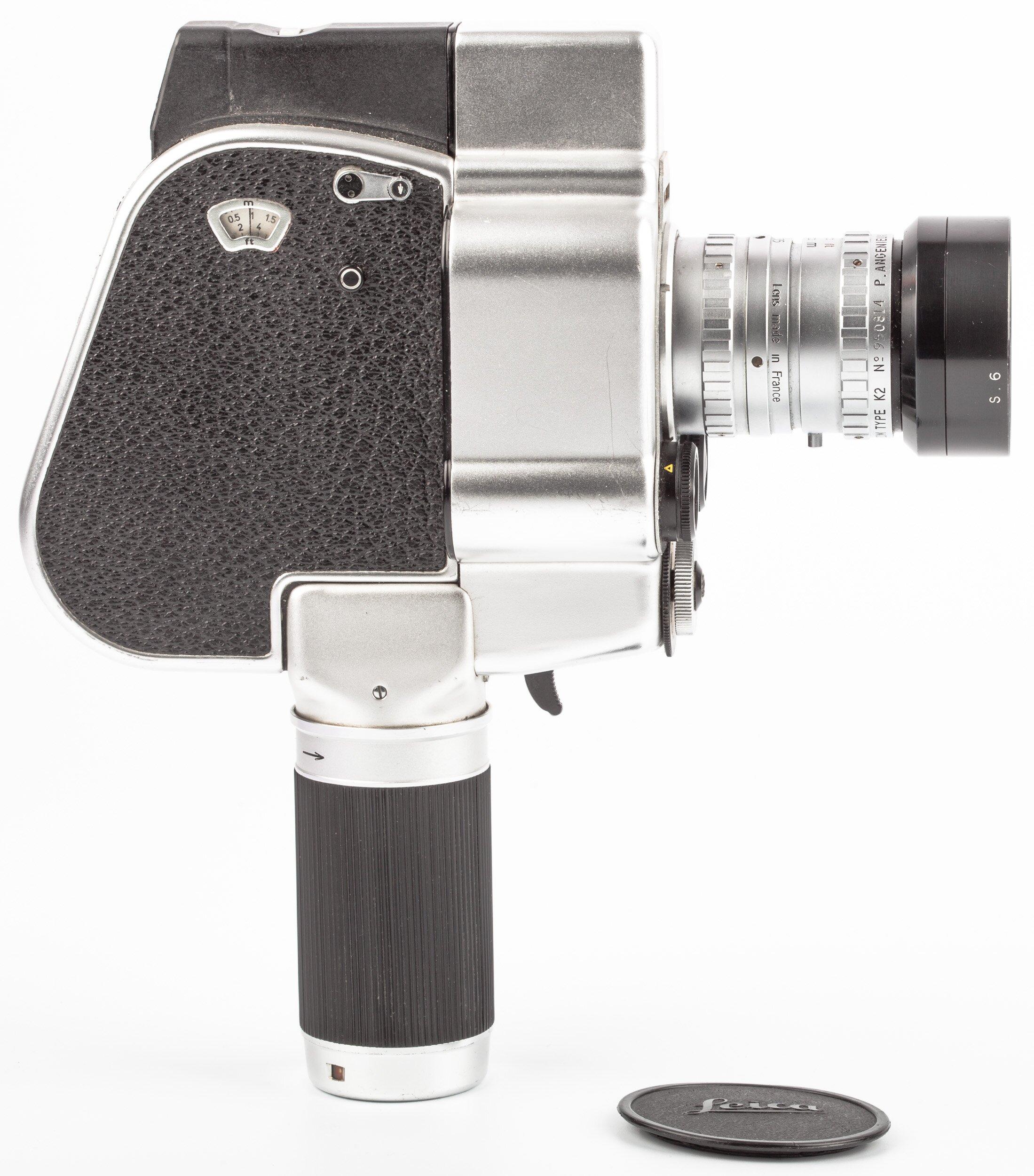 Carena Zoomex mit Angenieux 1,8/7,5-35mm