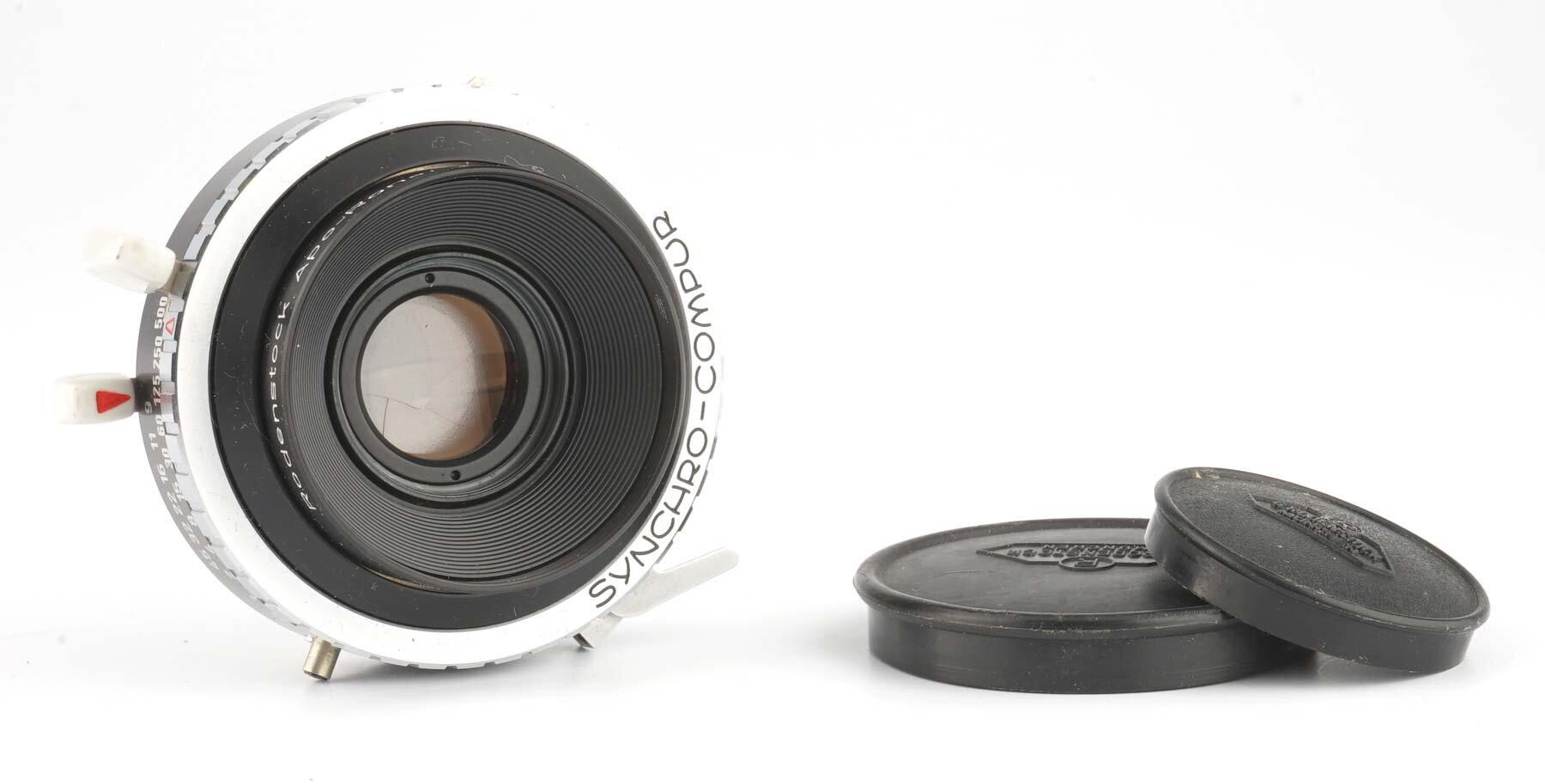 Rodenstock Apo Ronar 9/150mm im Synchro-Compur