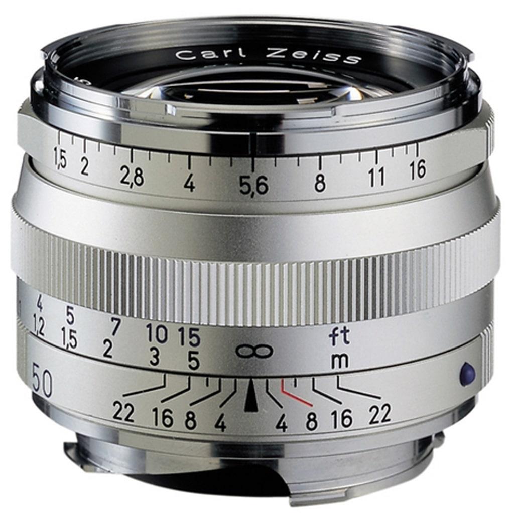 ZEISS C Sonnar T* 50mm 1:1,5 ZM f. Leica M silber
